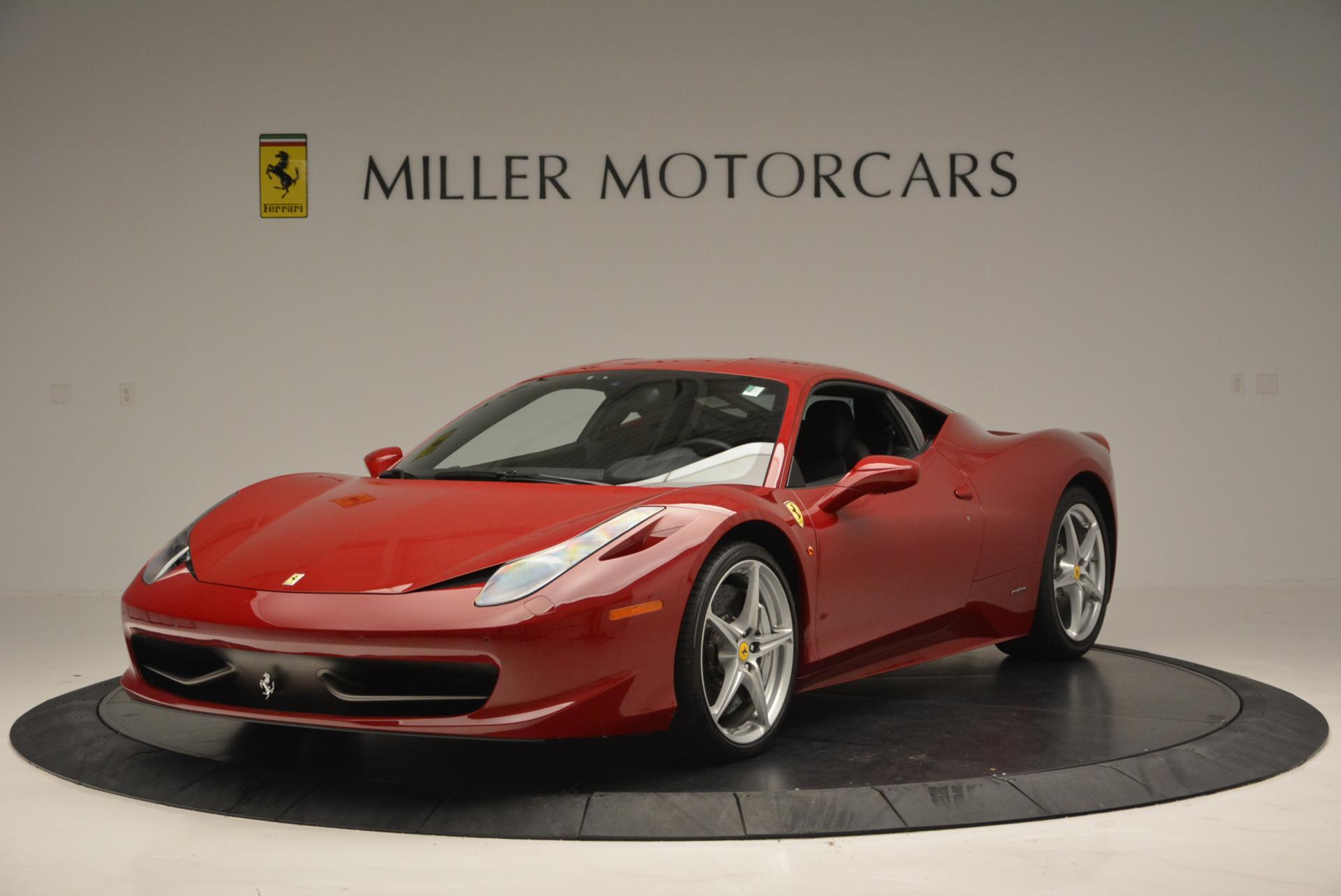Used 2011 Ferrari 458 Italia  For Sale In Greenwich, CT 551_main
