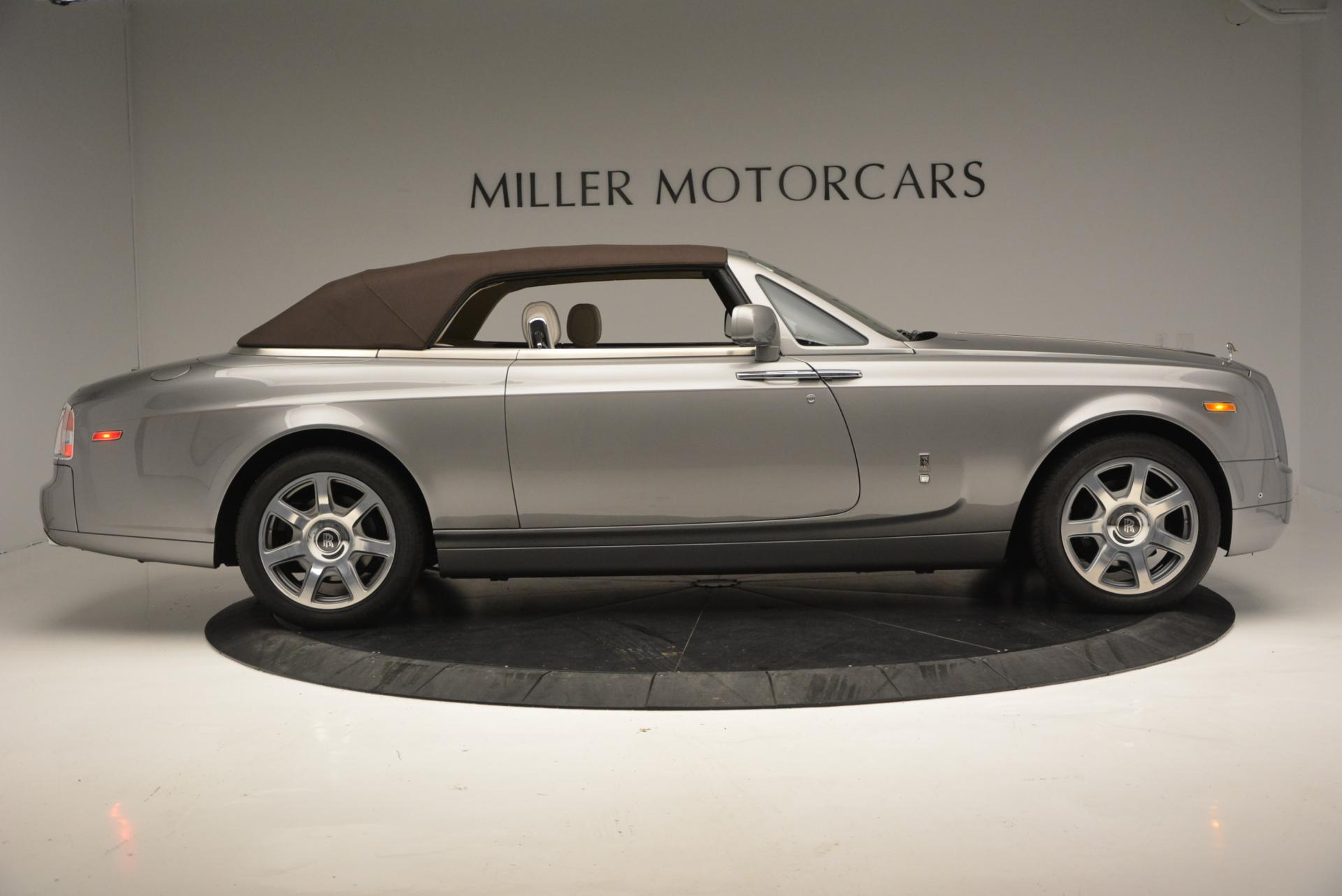 Used 2015 Rolls-Royce Phantom Drophead Coupe  For Sale In Greenwich, CT 554_p22
