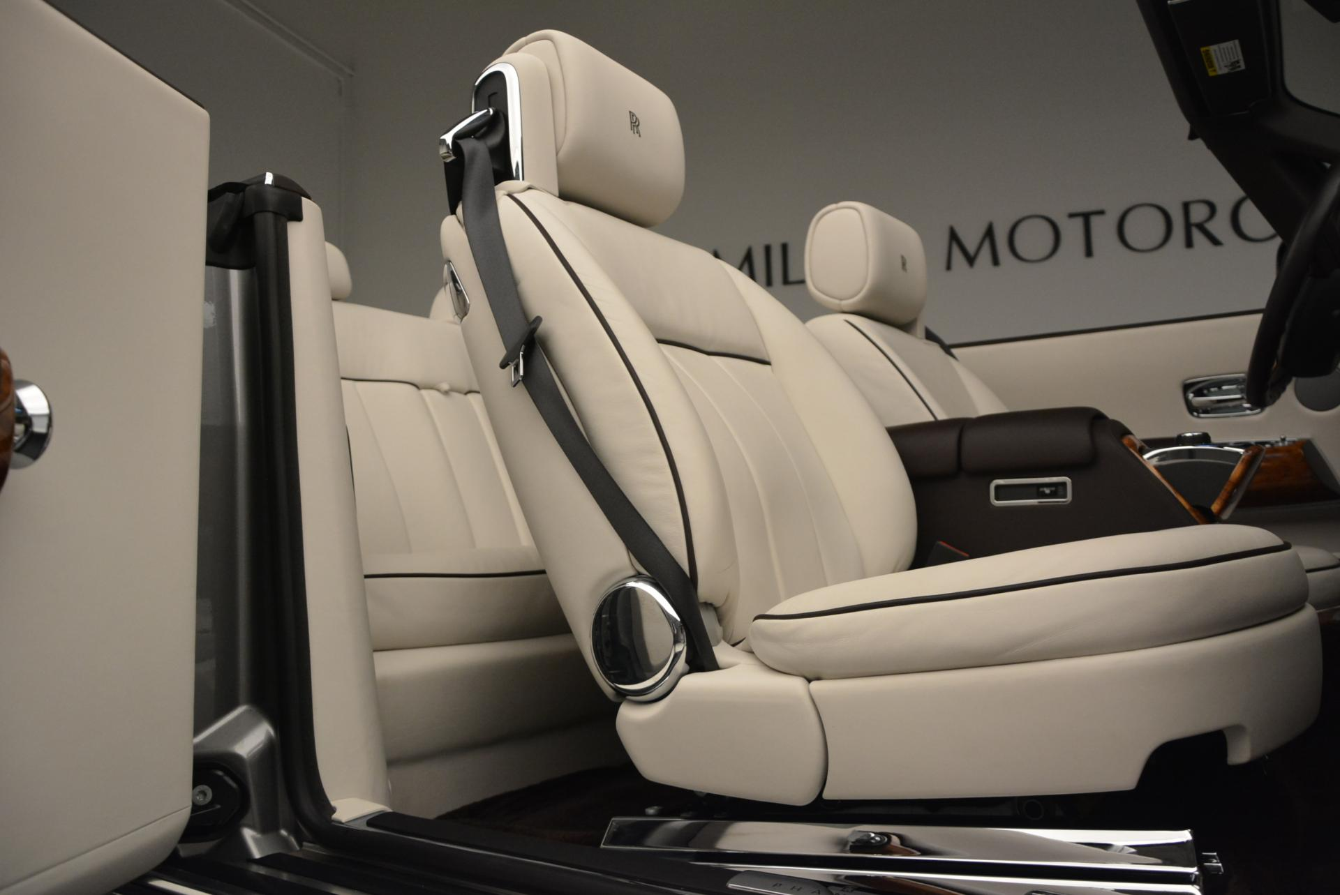 Used 2015 Rolls-Royce Phantom Drophead Coupe  For Sale In Greenwich, CT 554_p37