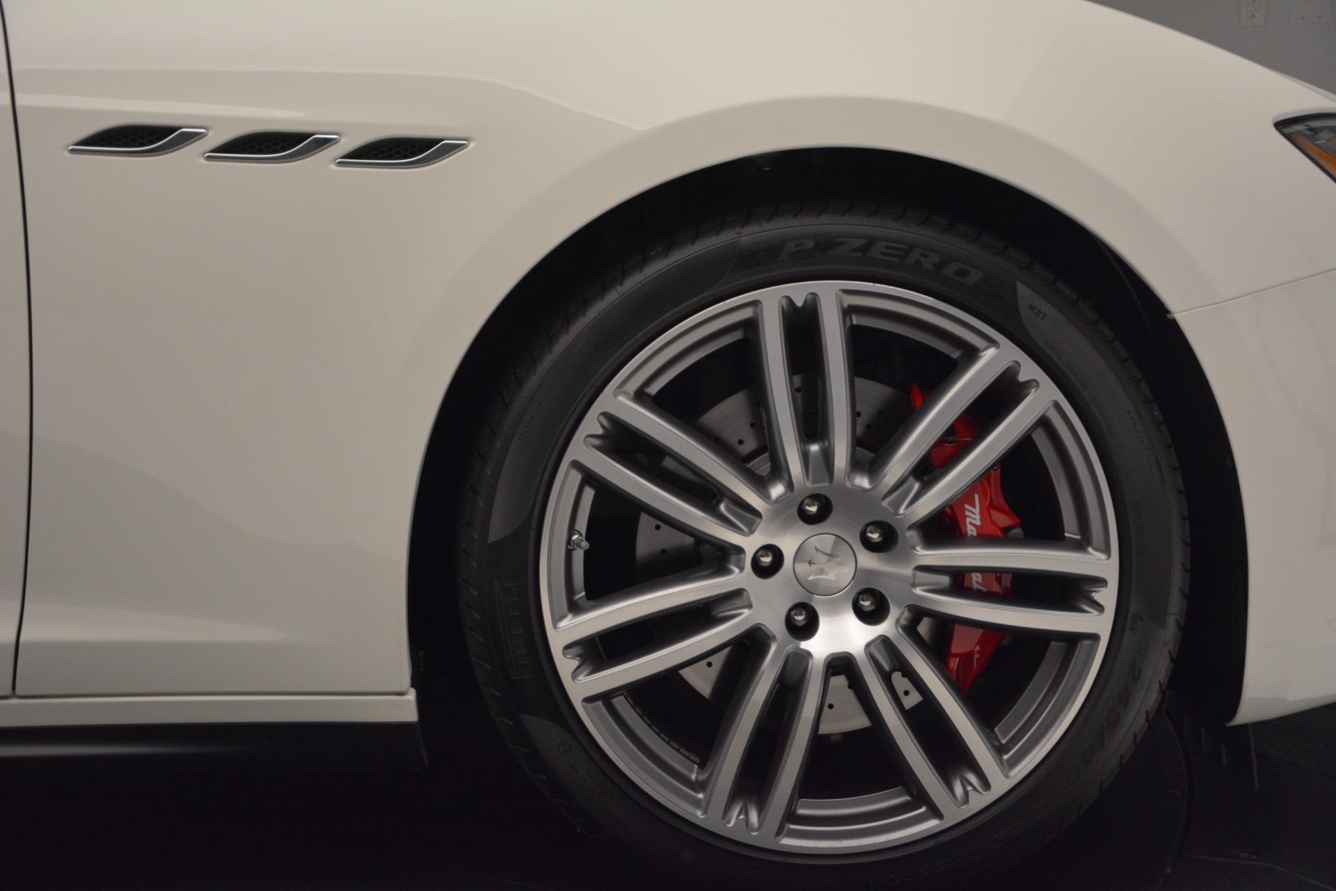 New 2017 Maserati Ghibli S Q4 For Sale In Greenwich, CT 570_p14