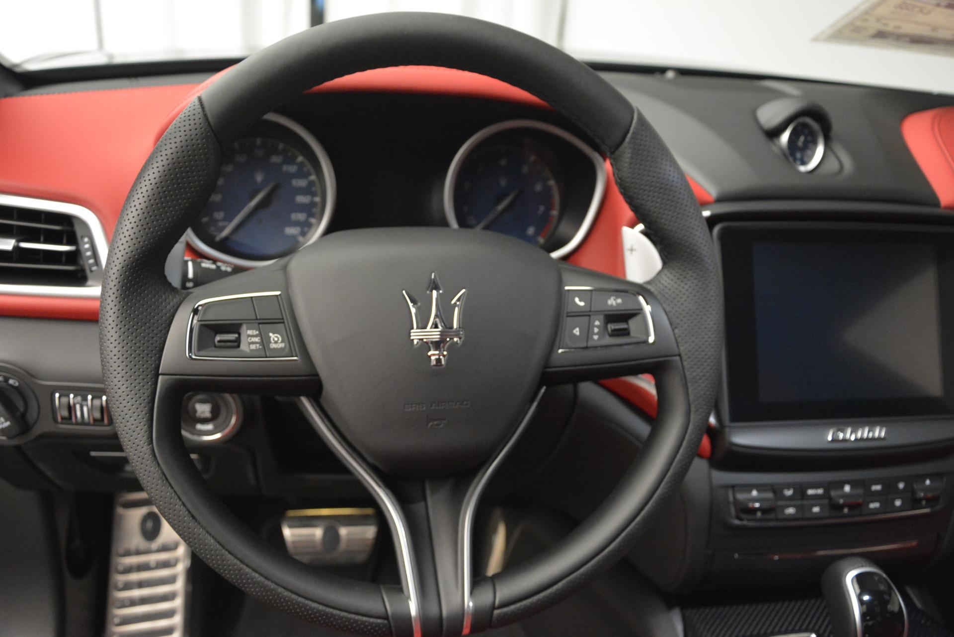 New 2017 Maserati Ghibli S Q4 For Sale In Greenwich, CT 578_p17