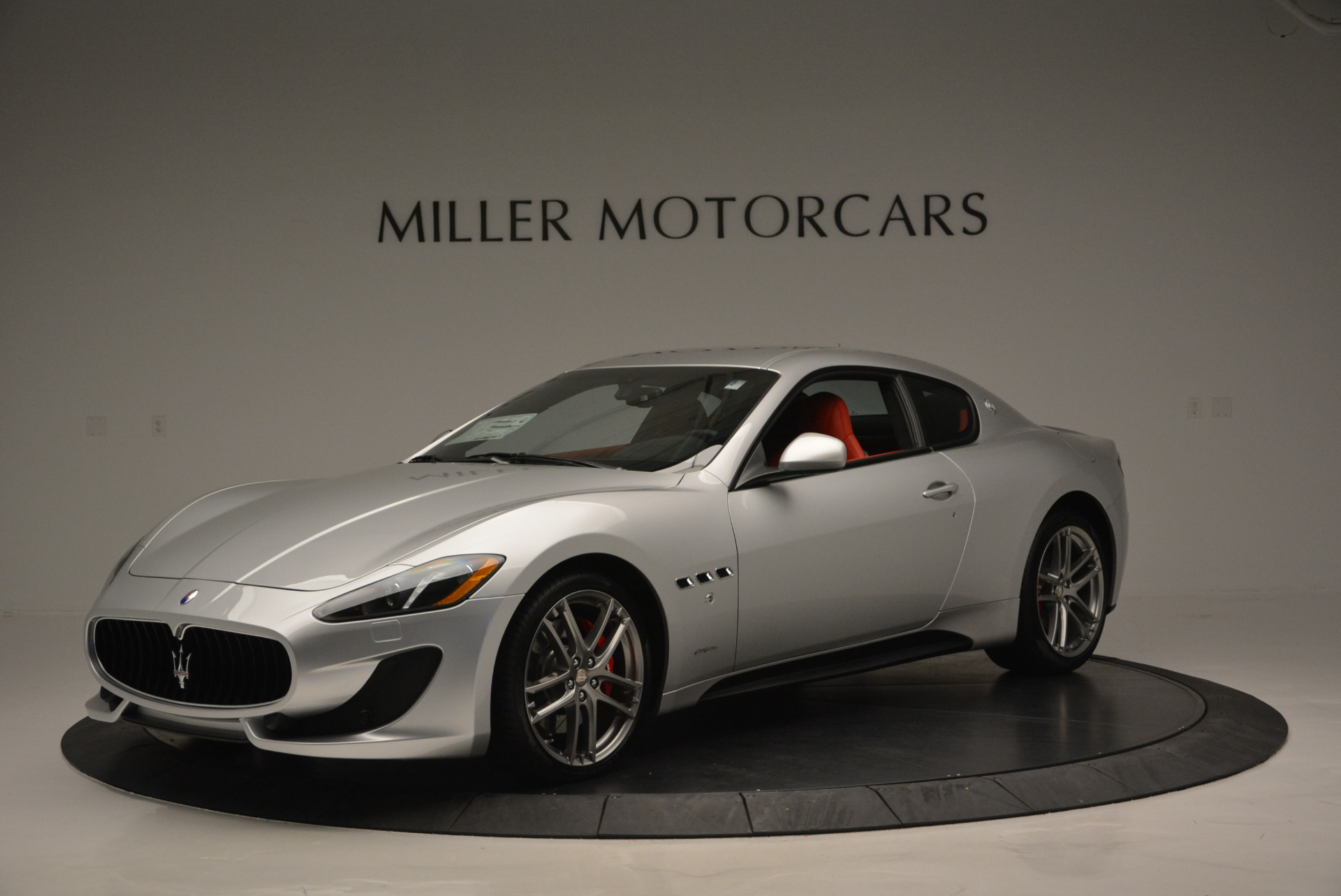 New 2017 Maserati GranTurismo Sport For Sale In Greenwich, CT 594_p2