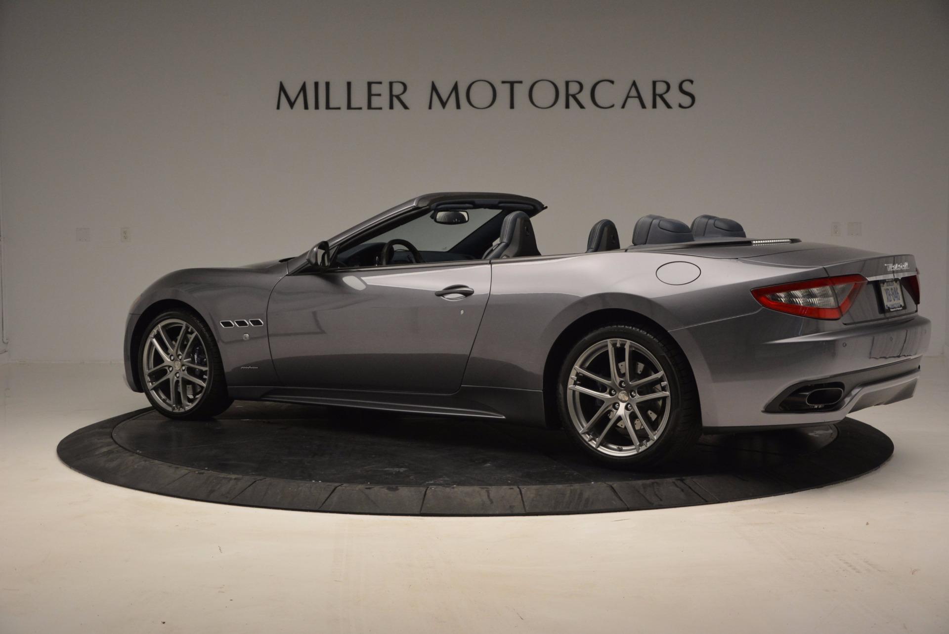 New 2017 Maserati GranTurismo Sport For Sale In Greenwich, CT 598_p3