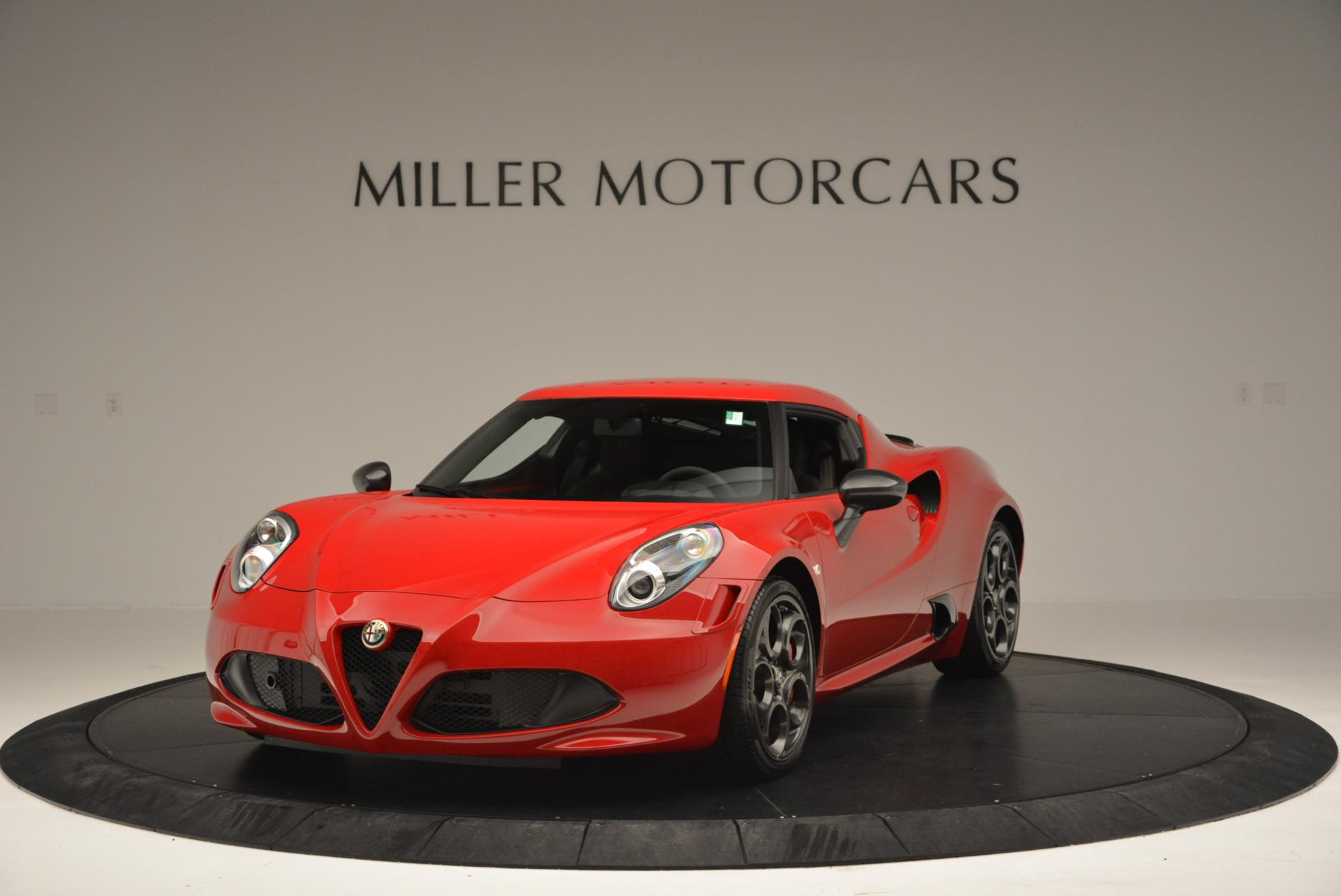 Used 2015 Alfa Romeo 4C Launch Edition For Sale In Greenwich, CT 6_main