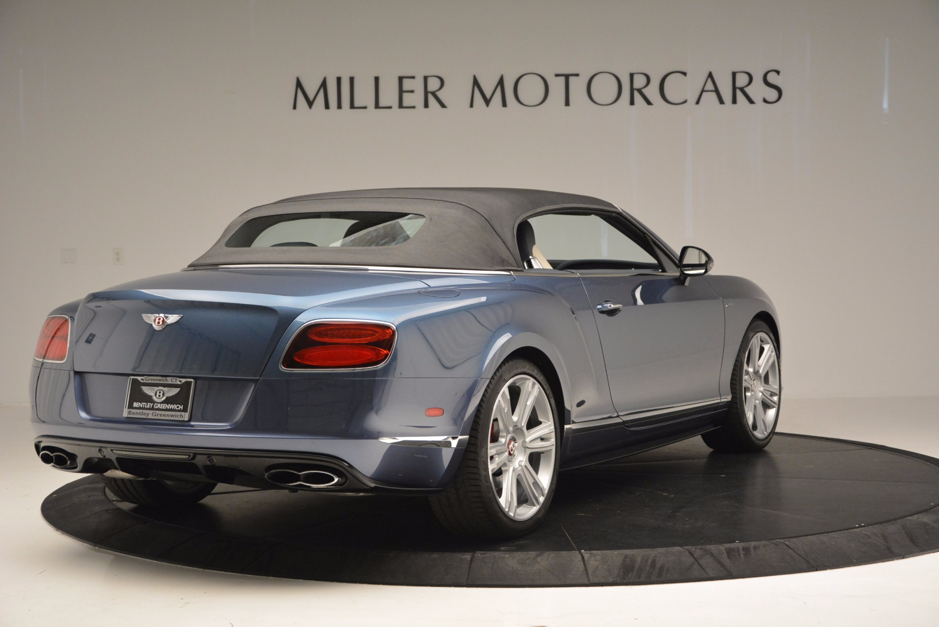 Used 2014 Bentley Continental GT V8 S Convertible  For Sale In Greenwich, CT 600_p18