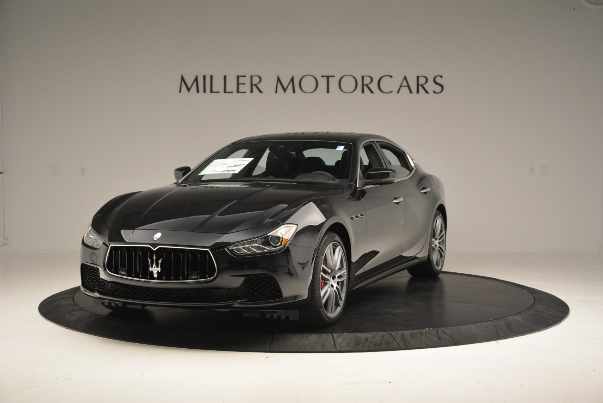 New 2017 Maserati Ghibli S Q4 For Sale In Greenwich, CT 605_main