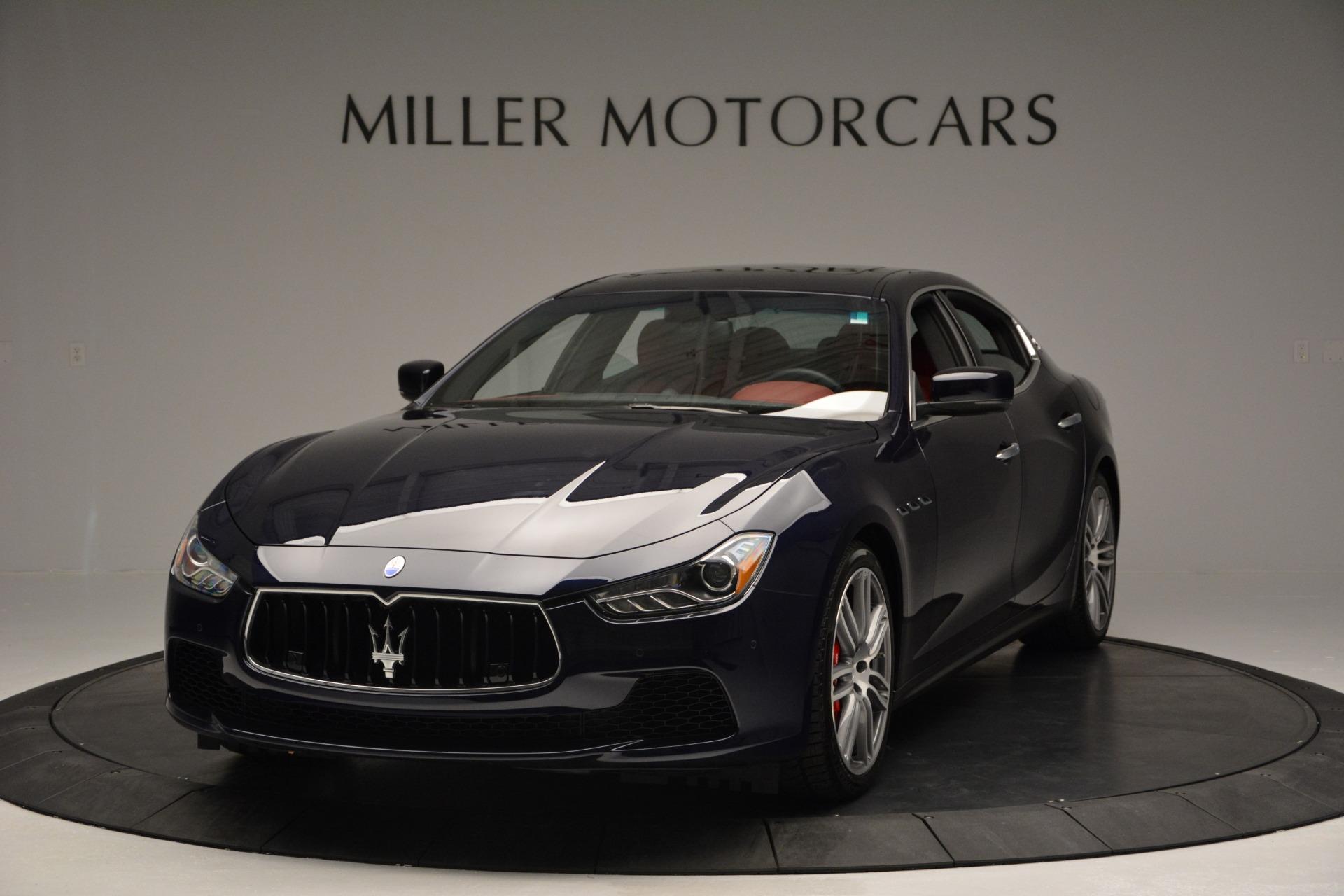 New 2017 Maserati Ghibli S Q4 For Sale In Greenwich, CT 607_main
