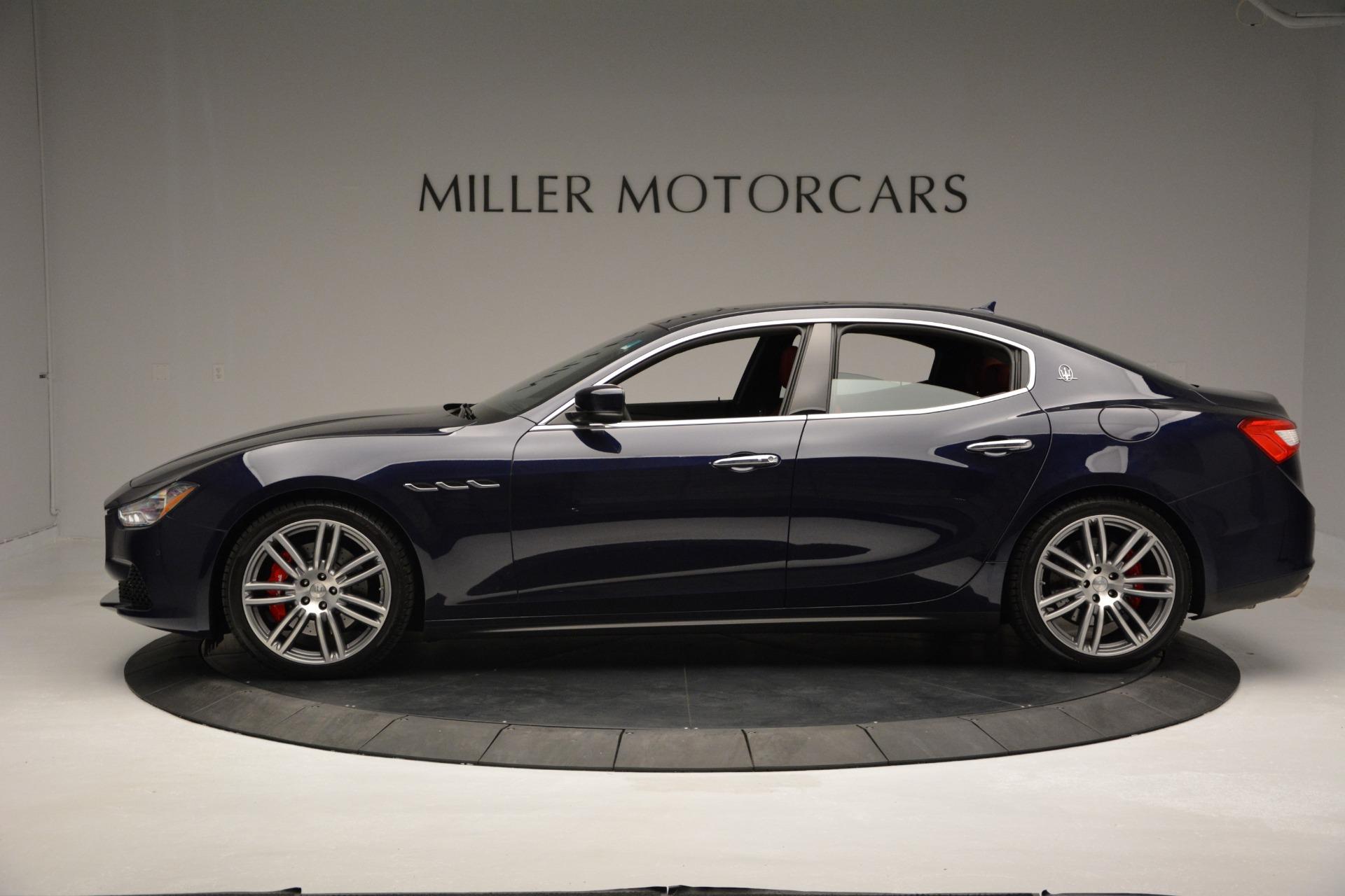 New 2017 Maserati Ghibli S Q4 For Sale In Greenwich, CT 607_p3