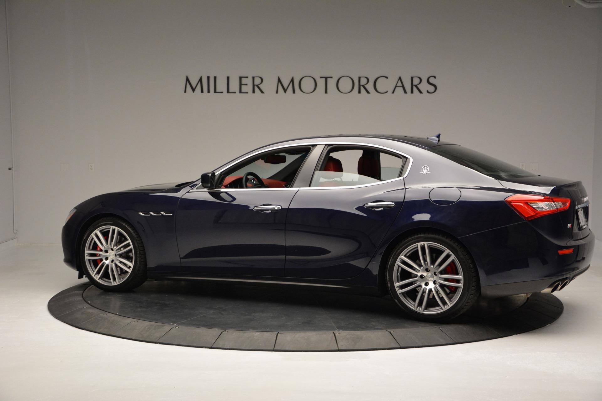 New 2017 Maserati Ghibli S Q4 For Sale In Greenwich, CT 607_p4