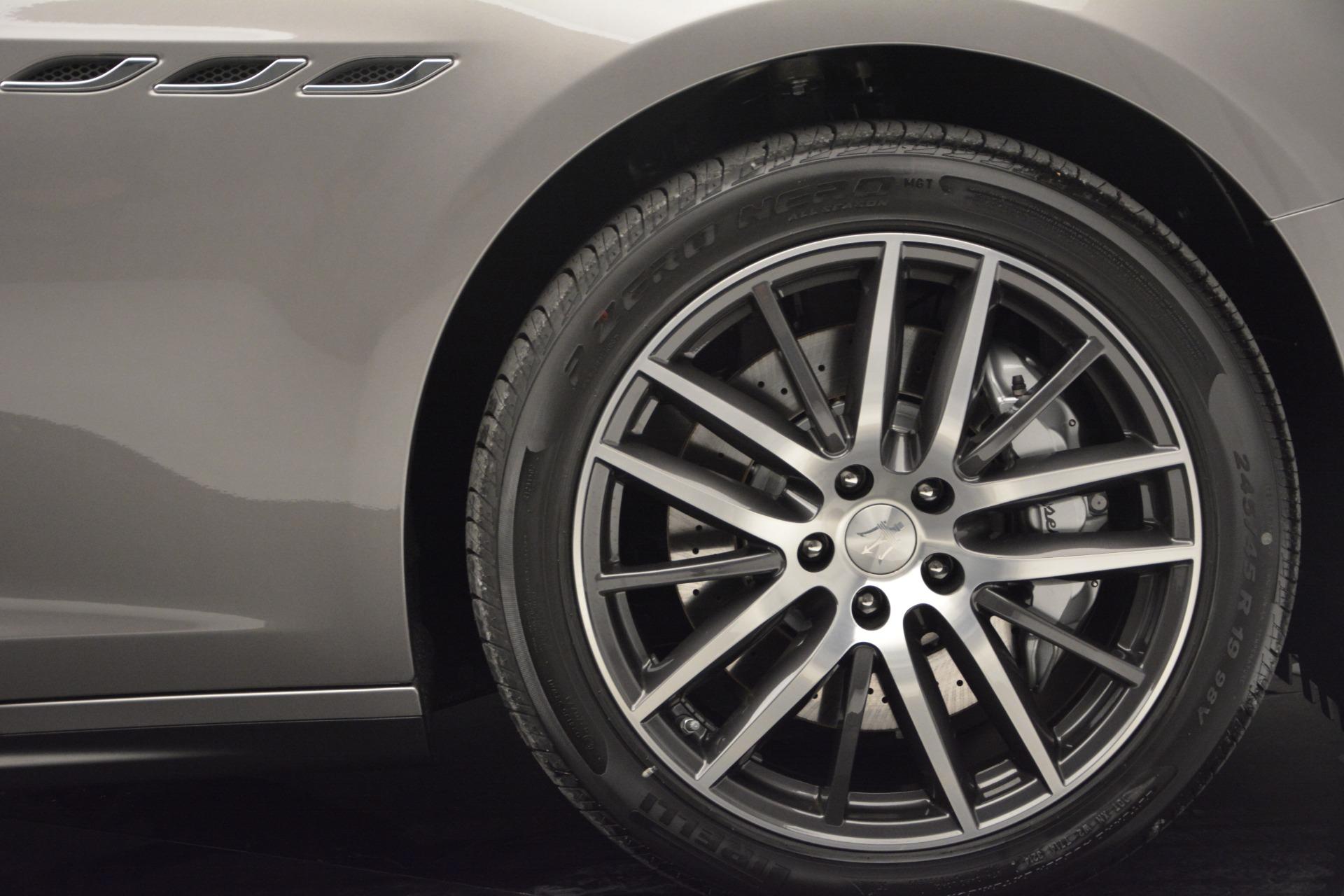 Used 2017 Maserati Ghibli S Q4 EX-LOANER For Sale In Greenwich, CT 608_p13