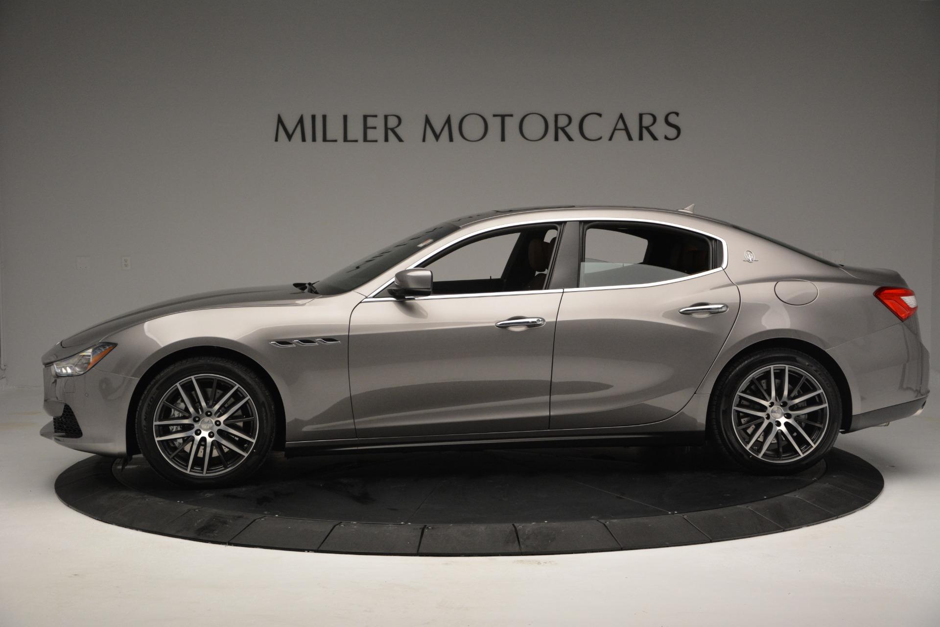 Used 2017 Maserati Ghibli S Q4 EX-LOANER For Sale In Greenwich, CT 608_p3