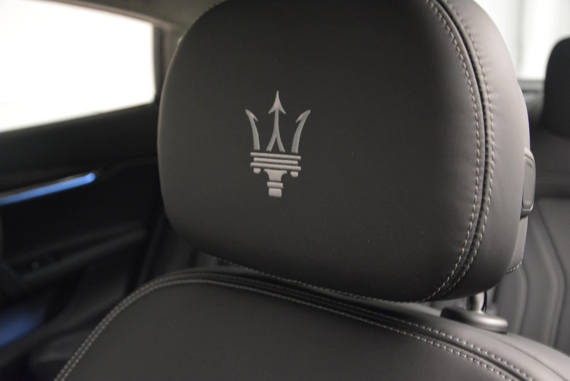 New 2017 Maserati Quattroporte S Q4 GranLusso For Sale In Greenwich, CT 611_p16