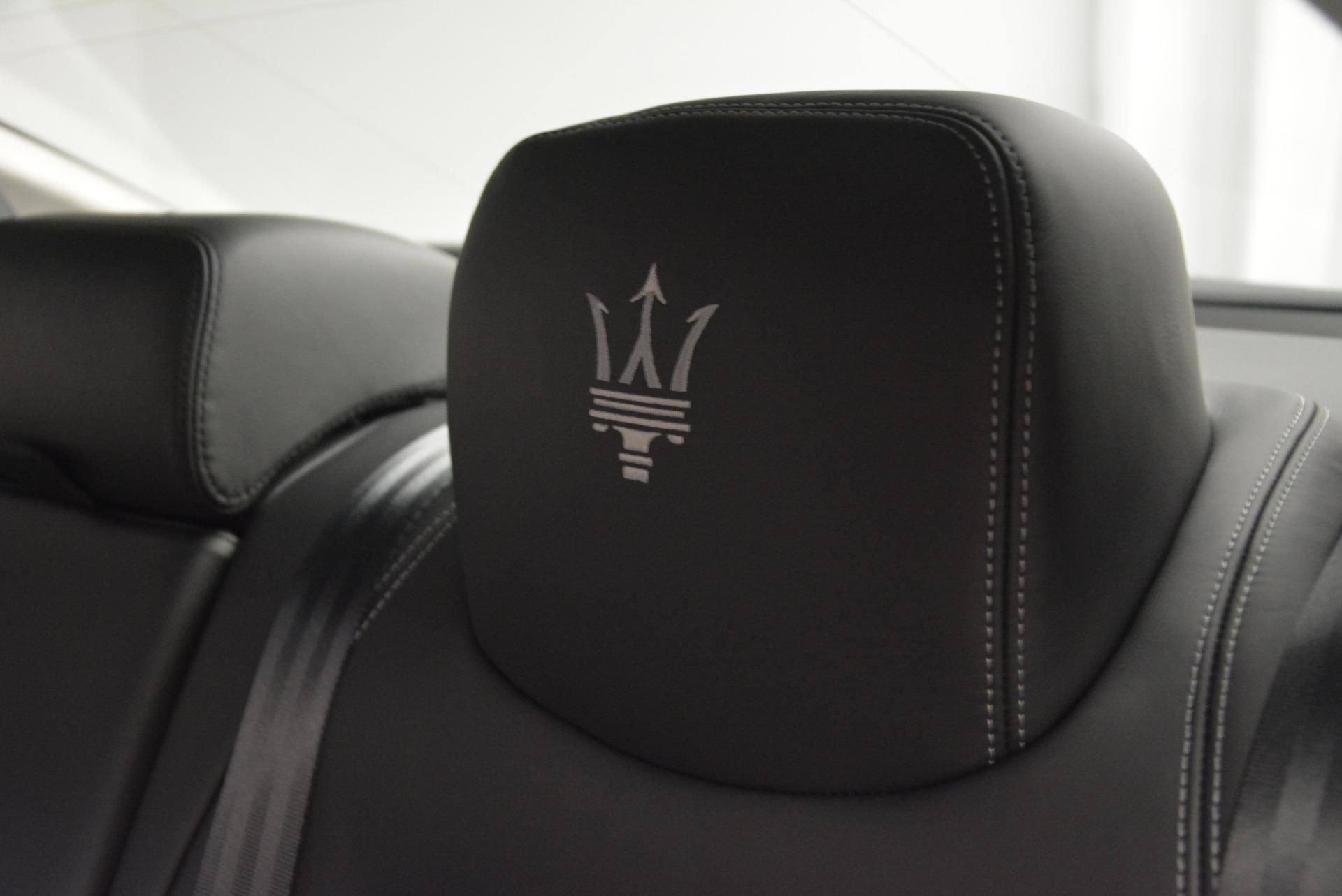 New 2017 Maserati Quattroporte S Q4 GranLusso For Sale In Greenwich, CT 611_p20