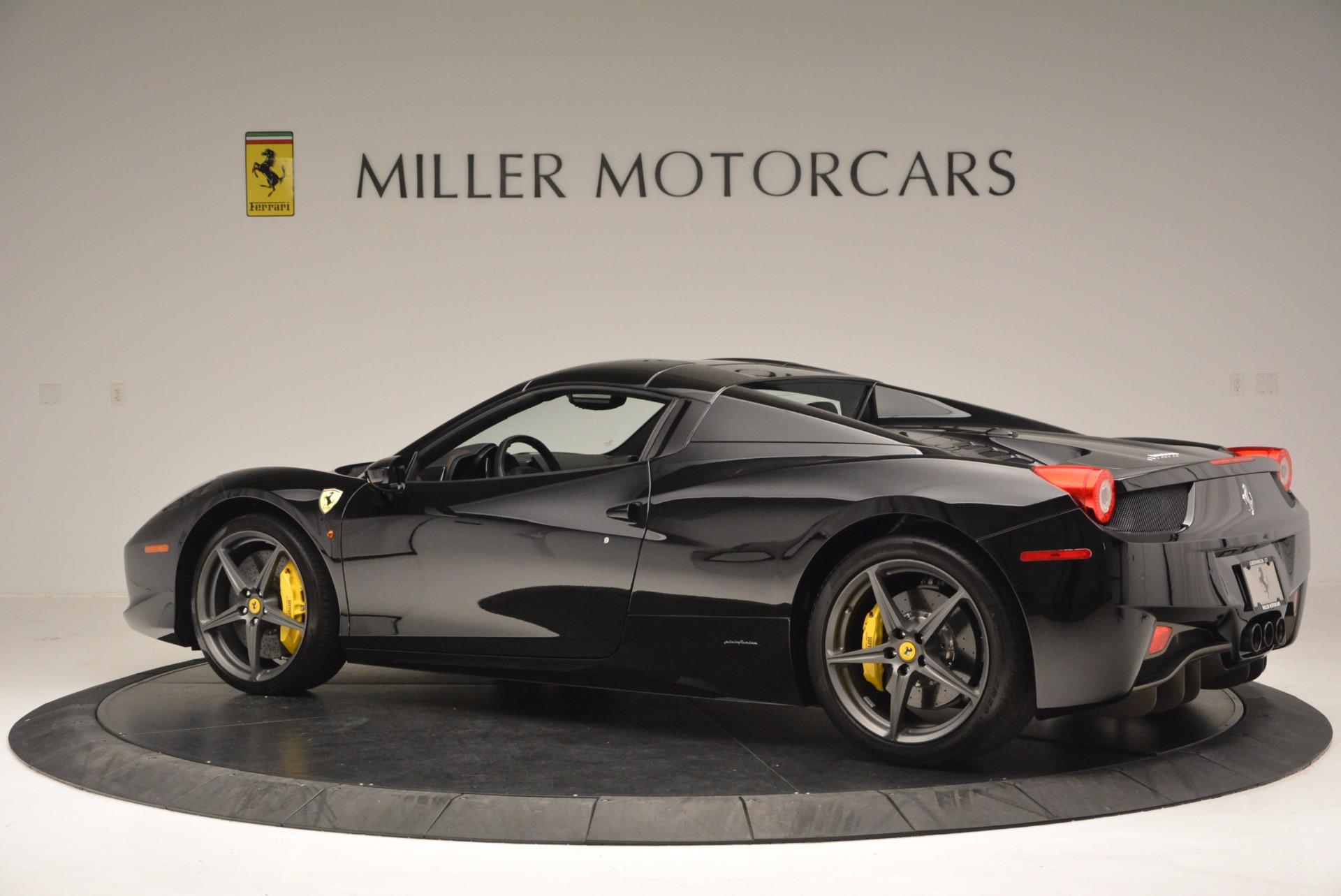 Used 2014 Ferrari 458 Spider  For Sale In Greenwich, CT 620_p16