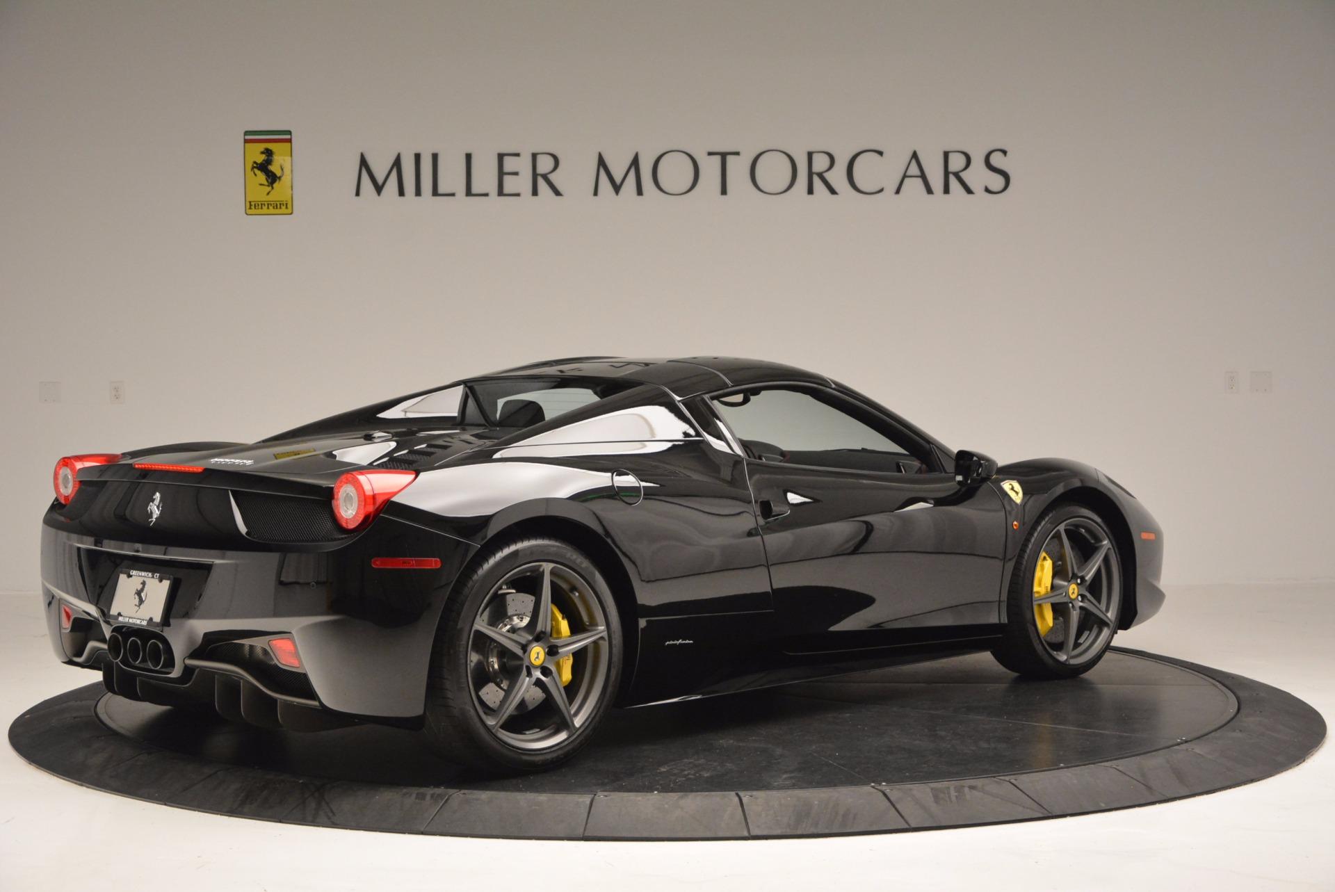 Used 2014 Ferrari 458 Spider  For Sale In Greenwich, CT 620_p20