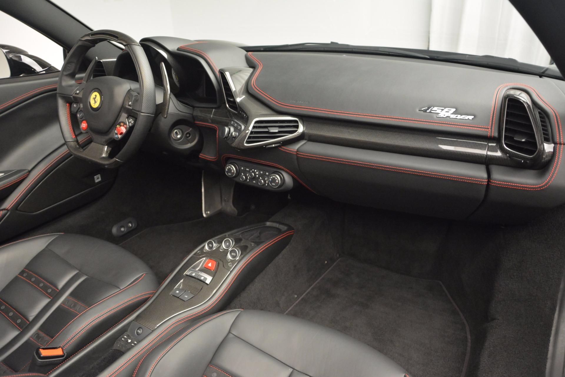 Used 2014 Ferrari 458 Spider  For Sale In Greenwich, CT 620_p29