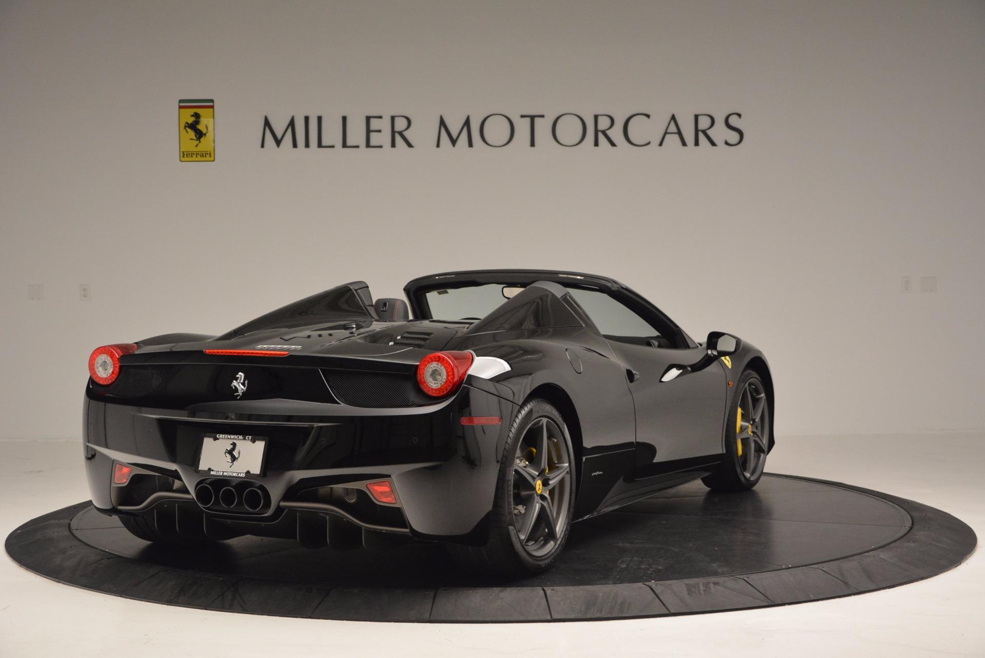 Used 2014 Ferrari 458 Spider  For Sale In Greenwich, CT 620_p7