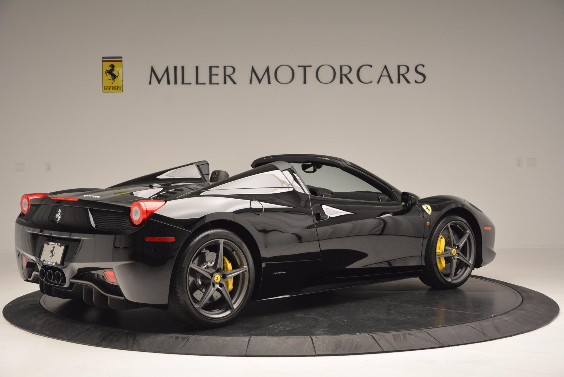 Used 2014 Ferrari 458 Spider  For Sale In Greenwich, CT 620_p8