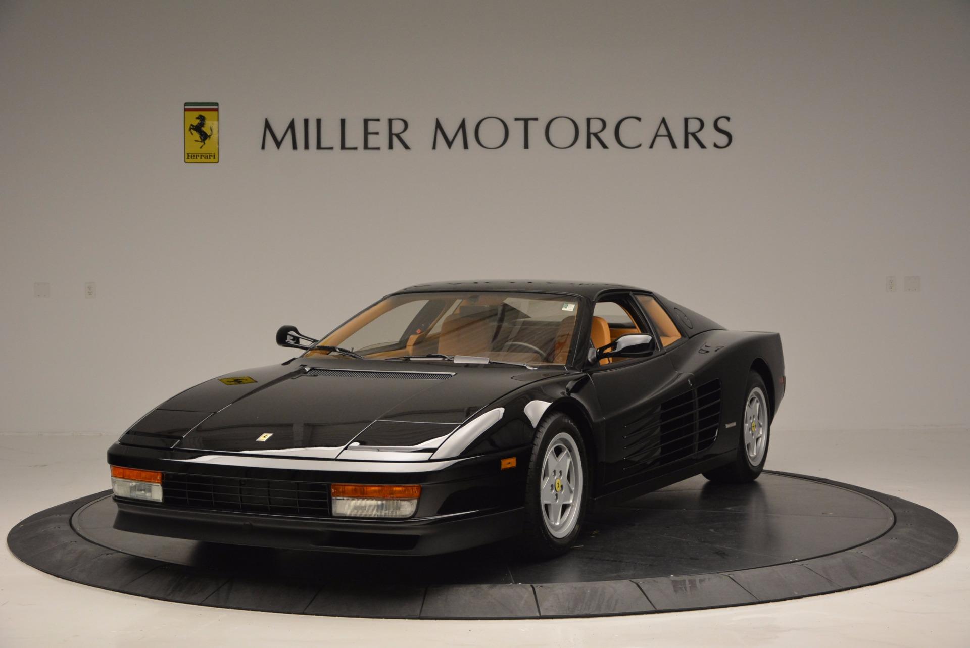 Used 1989 Ferrari Testarossa  For Sale In Greenwich, CT 622_main