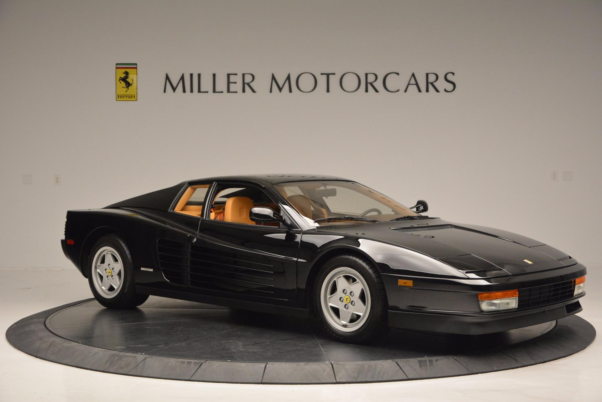 Used 1989 Ferrari Testarossa  For Sale In Greenwich, CT 622_p10