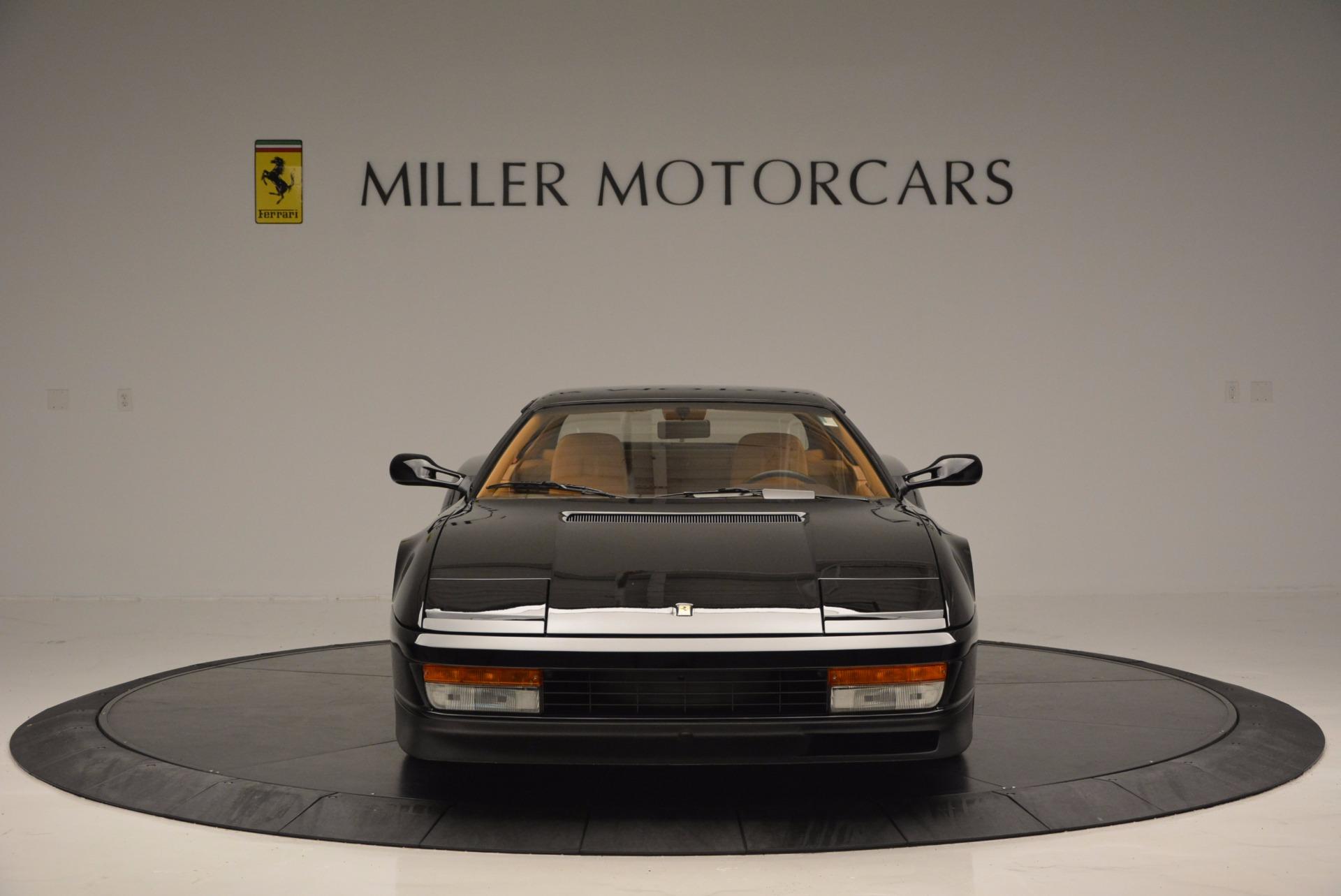 Used 1989 Ferrari Testarossa  For Sale In Greenwich, CT 622_p12