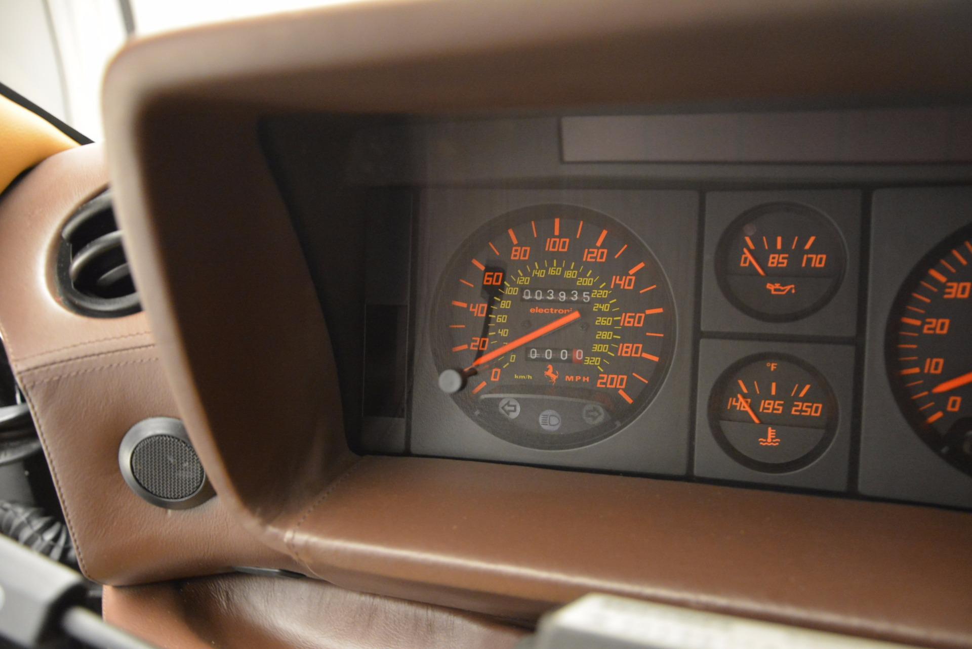 Used 1989 Ferrari Testarossa  For Sale In Greenwich, CT 622_p20