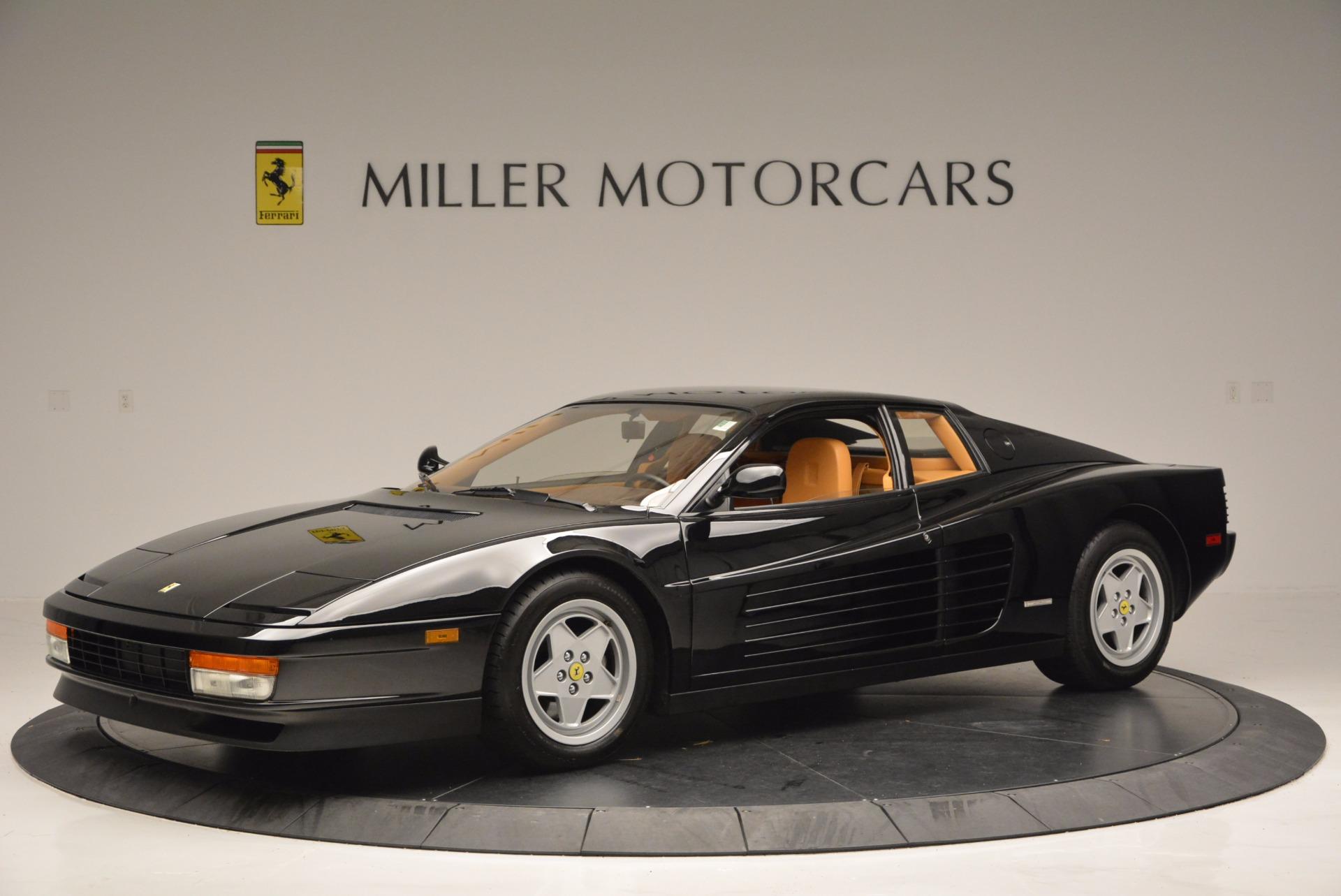 Used 1989 Ferrari Testarossa  For Sale In Greenwich, CT 622_p2
