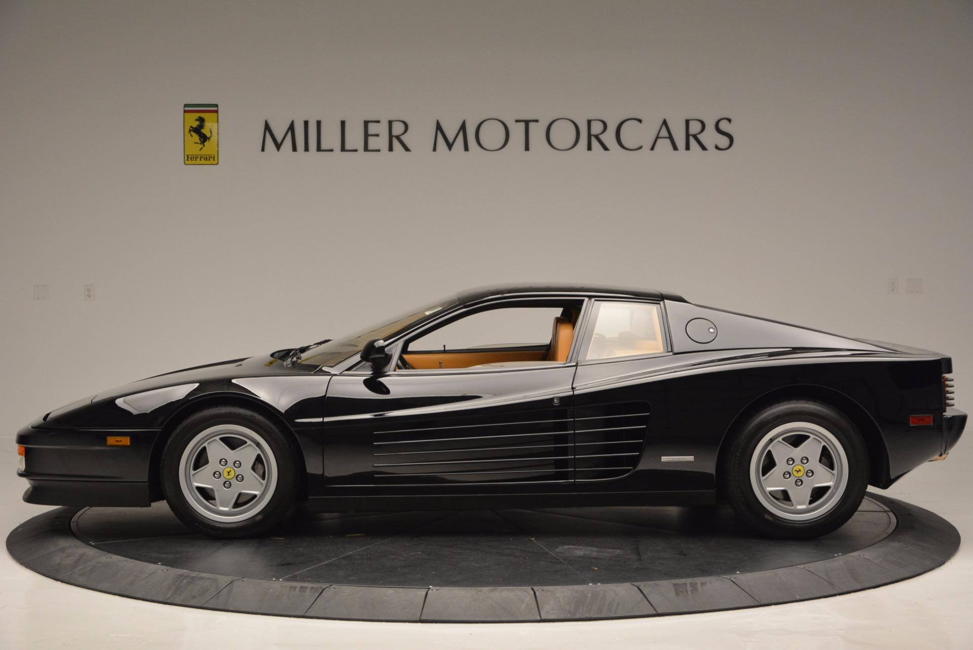 Used 1989 Ferrari Testarossa  For Sale In Greenwich, CT 622_p3