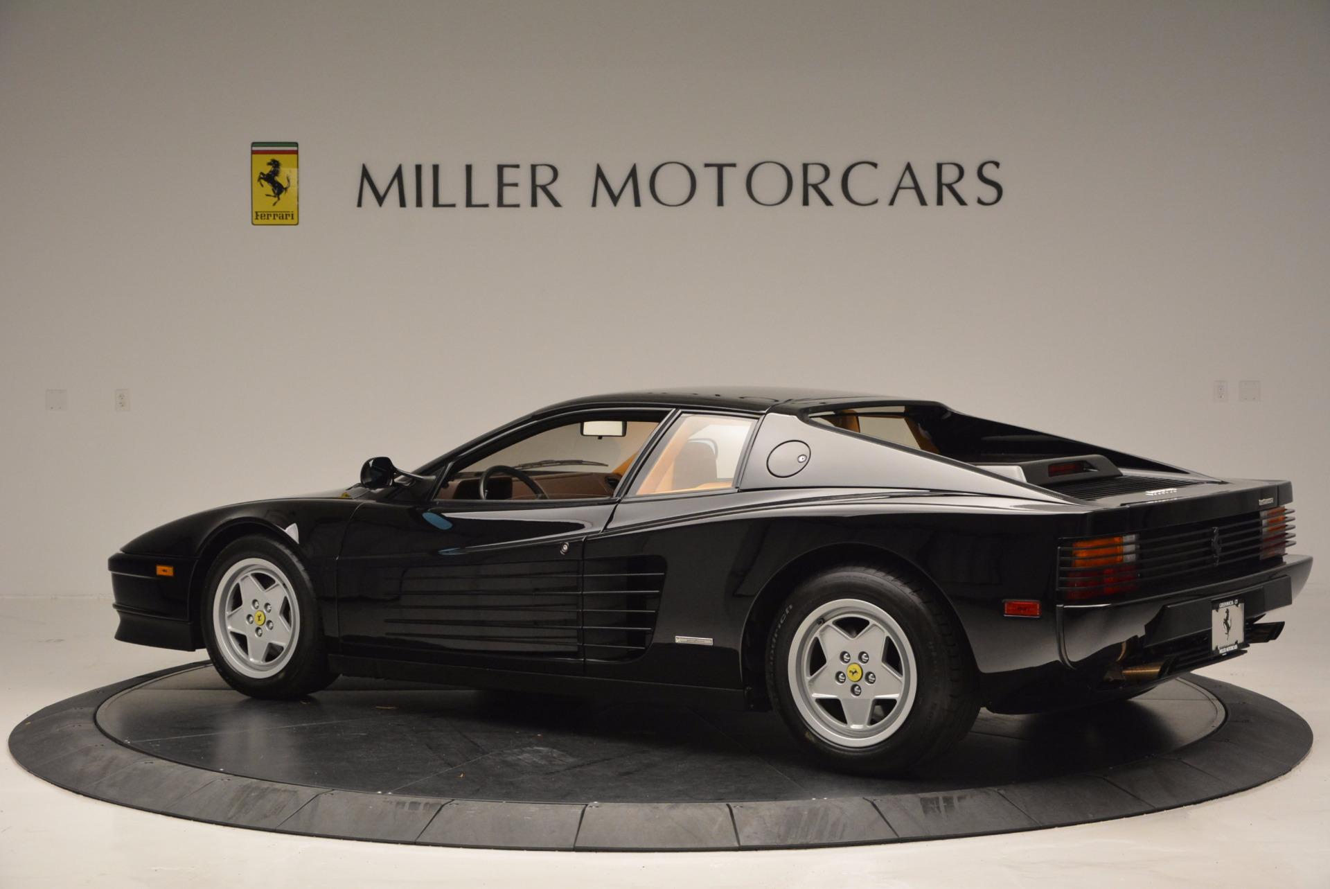 Used 1989 Ferrari Testarossa  For Sale In Greenwich, CT 622_p4
