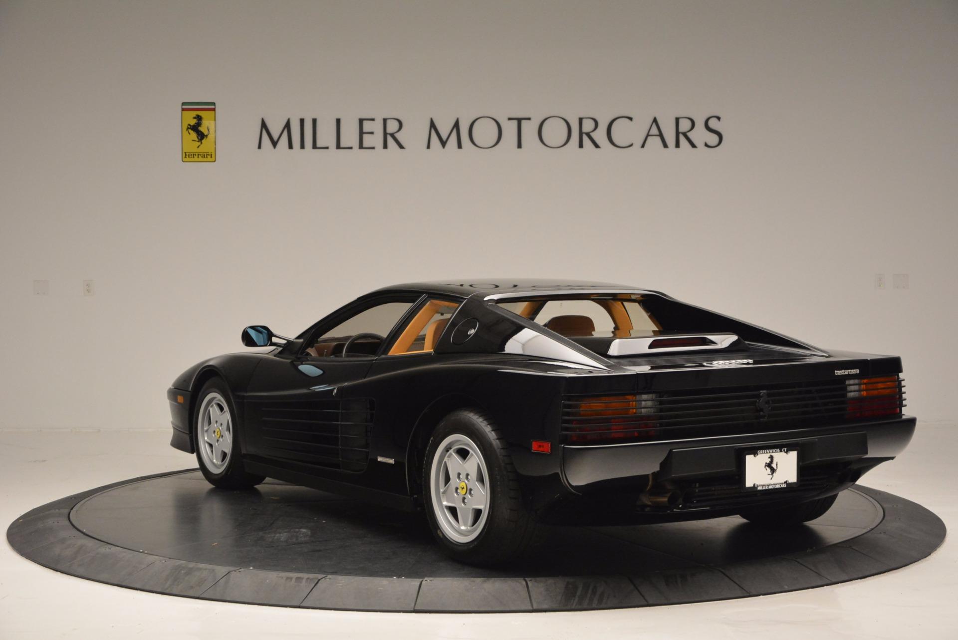 Used 1989 Ferrari Testarossa  For Sale In Greenwich, CT 622_p5