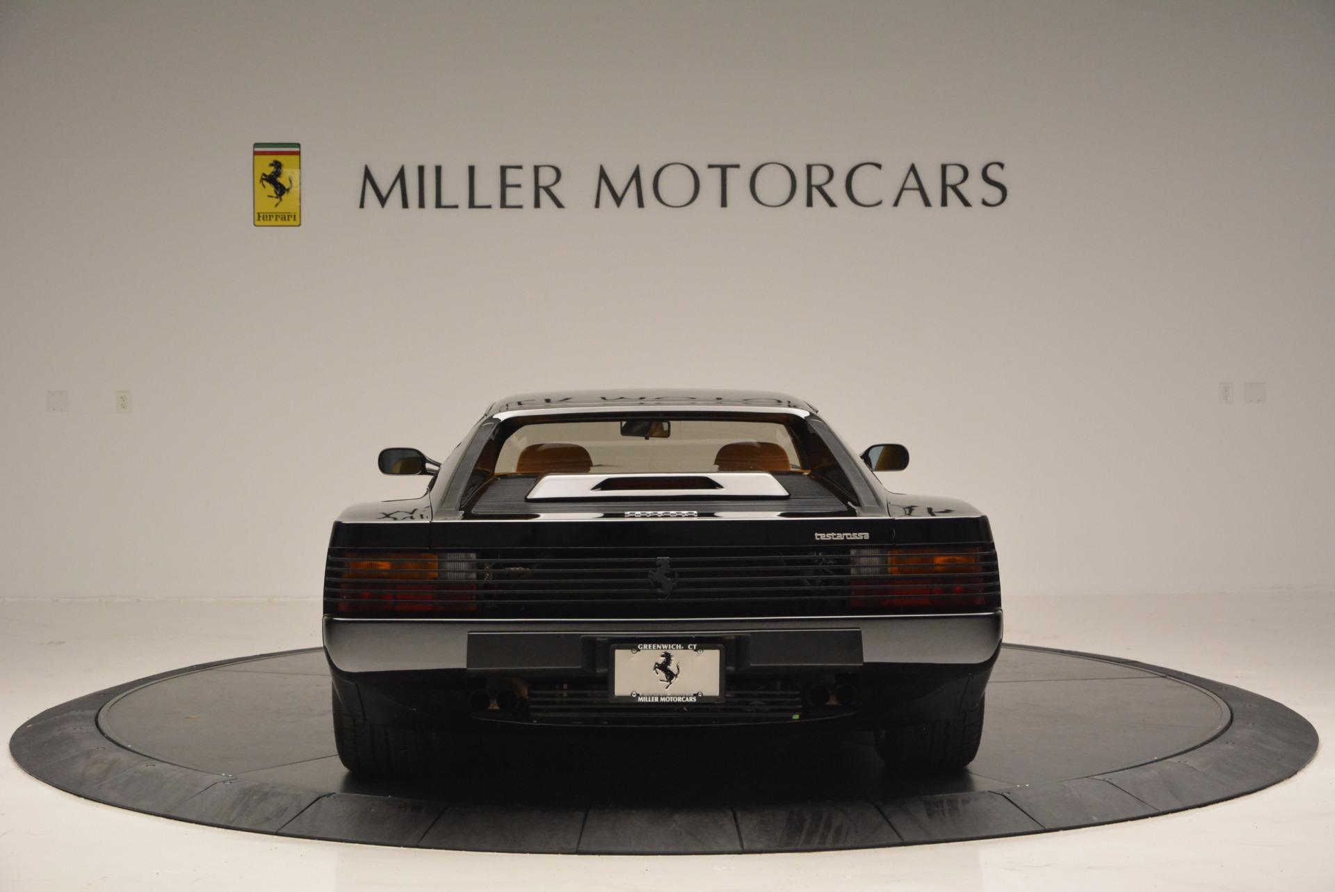 Used 1989 Ferrari Testarossa  For Sale In Greenwich, CT 622_p6