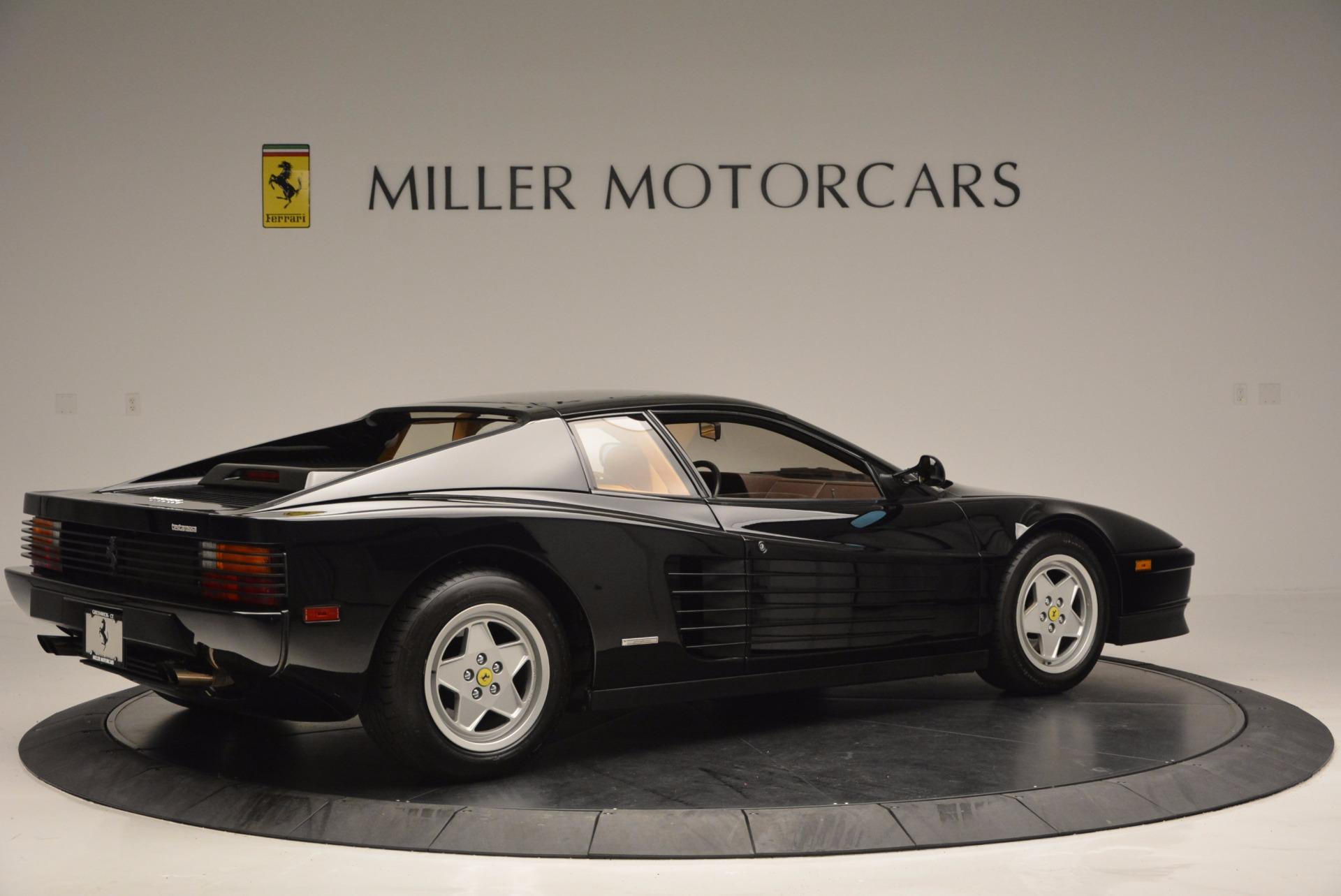 Used 1989 Ferrari Testarossa  For Sale In Greenwich, CT 622_p8