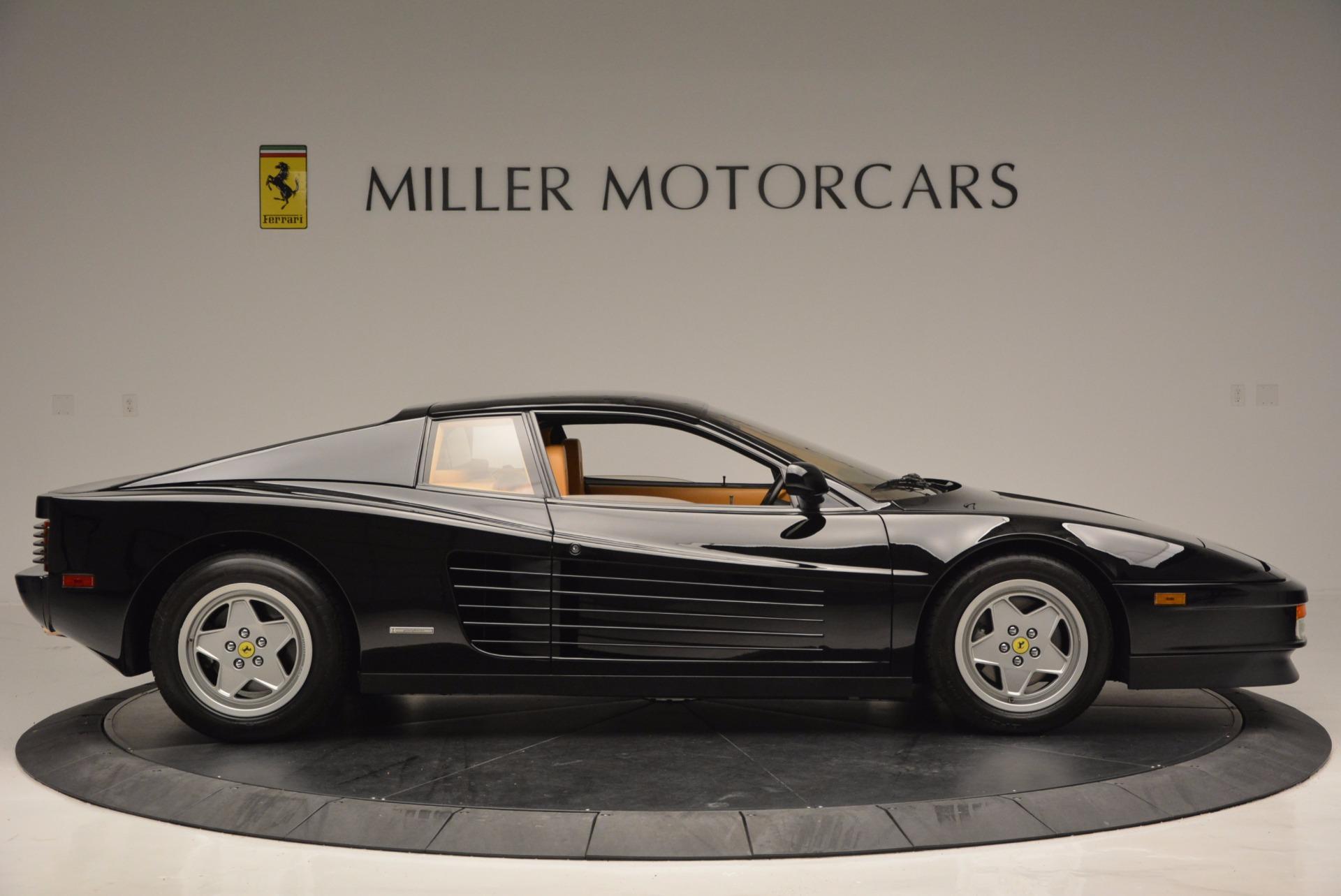 Used 1989 Ferrari Testarossa  For Sale In Greenwich, CT 622_p9