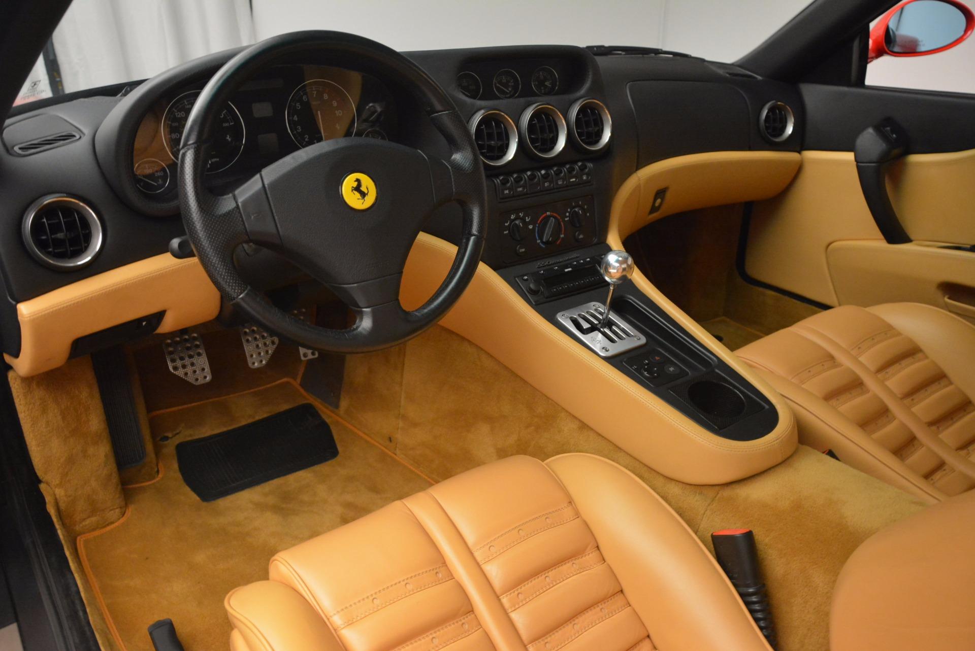 Used 2000 Ferrari 550 Maranello  For Sale In Greenwich, CT 623_p13