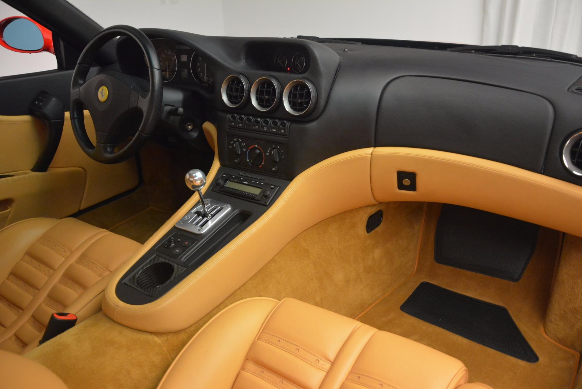 Used 2000 Ferrari 550 Maranello  For Sale In Greenwich, CT 623_p17