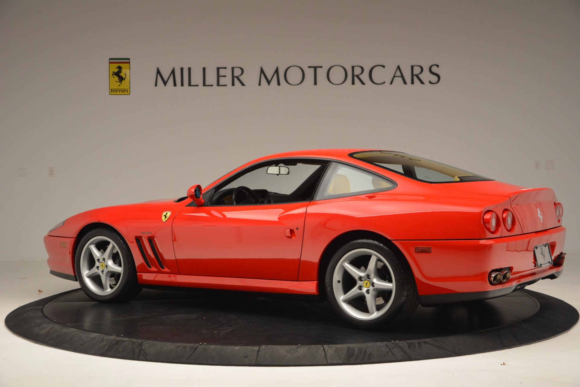 Used 2000 Ferrari 550 Maranello  For Sale In Greenwich, CT 623_p4