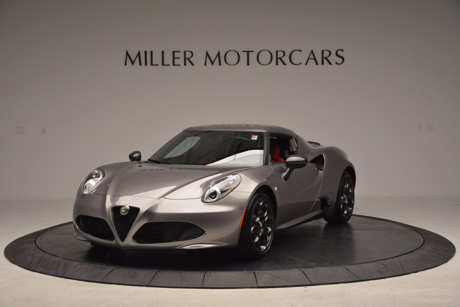 New 2016 Alfa Romeo 4C  For Sale In Greenwich, CT 625_main