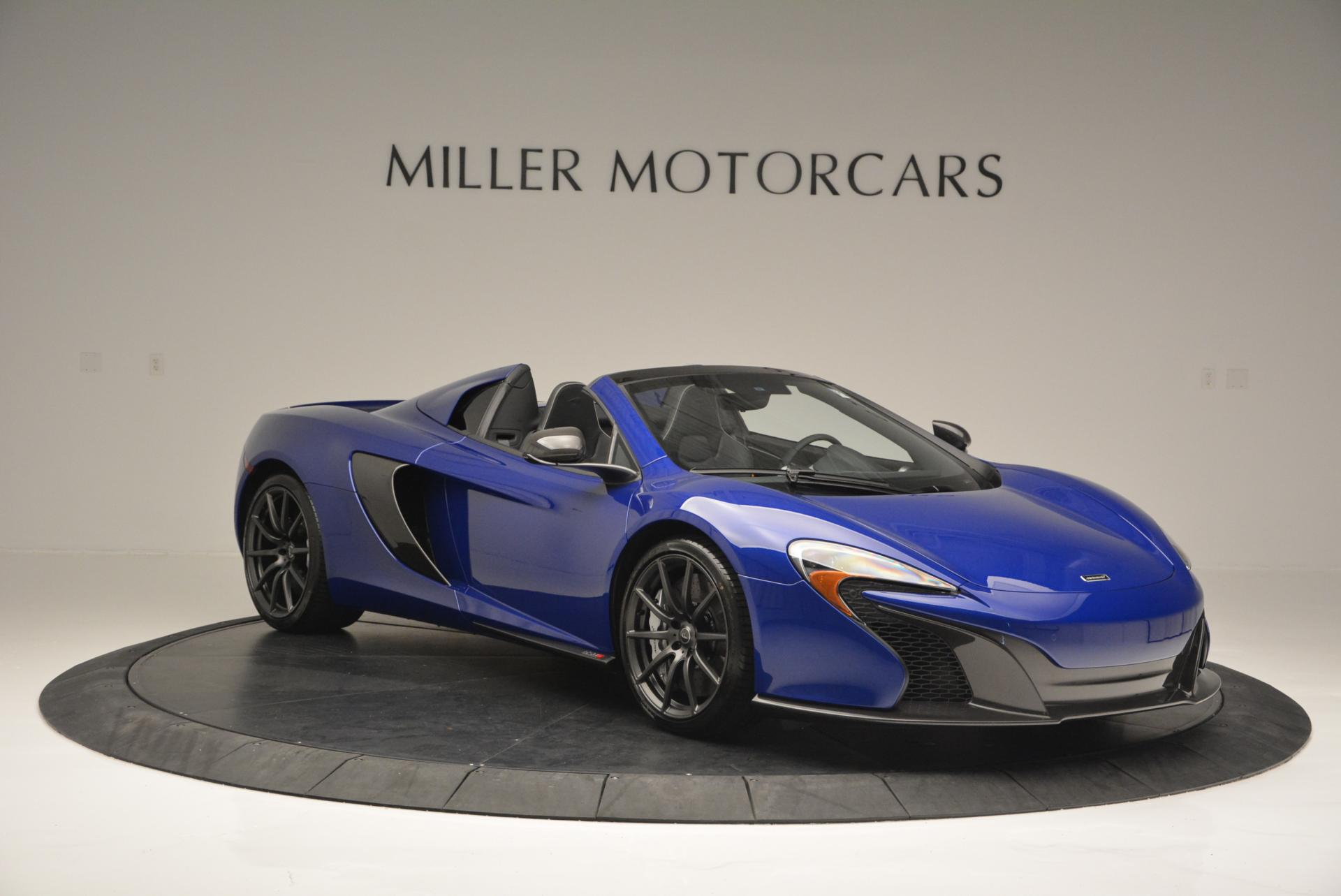 Used 2016 McLaren 650S Spider  For Sale In Greenwich, CT 65_p11