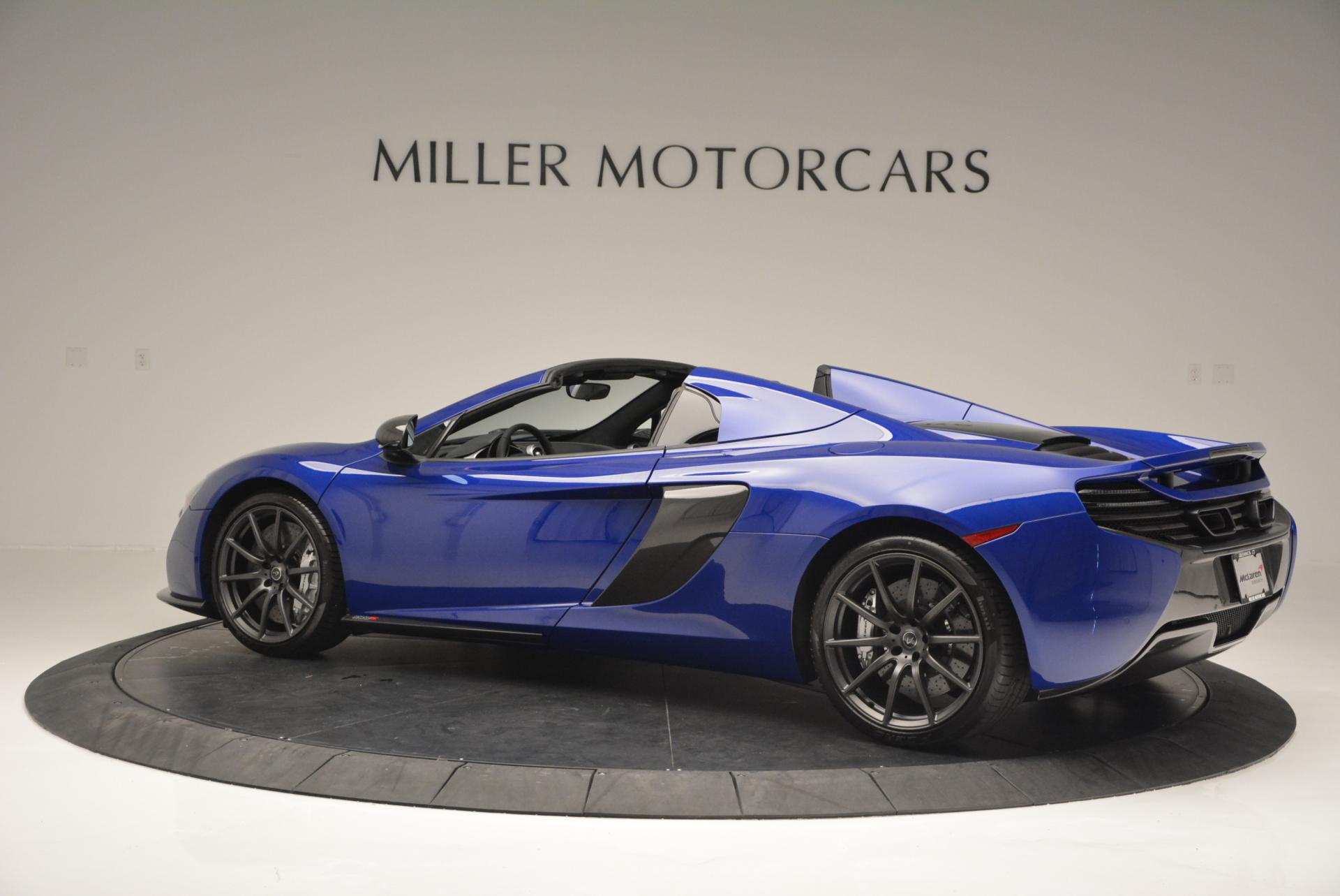 Used 2016 McLaren 650S Spider  For Sale In Greenwich, CT 65_p4