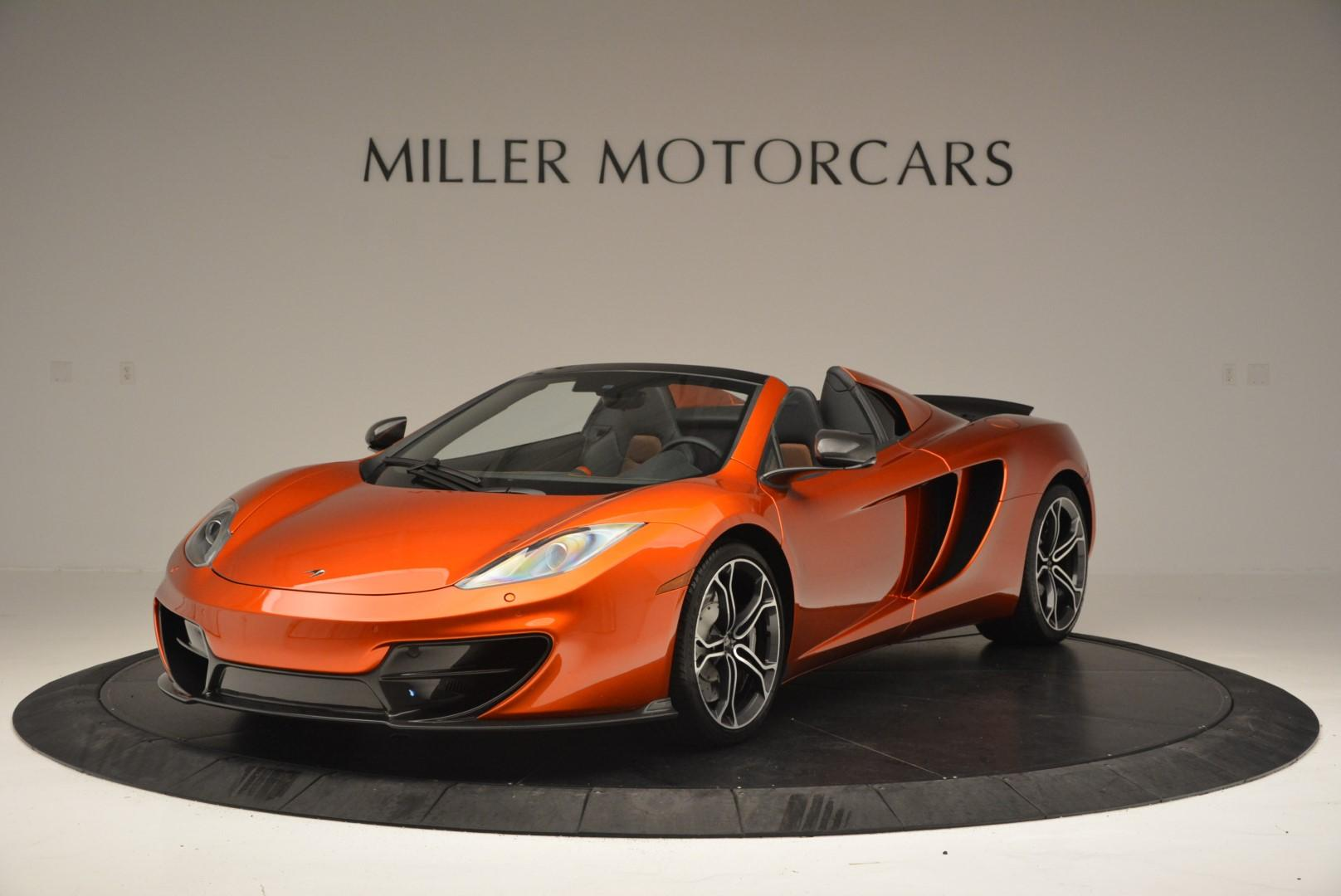 Used 2013 McLaren MP4-12C Base For Sale In Greenwich, CT 66_main
