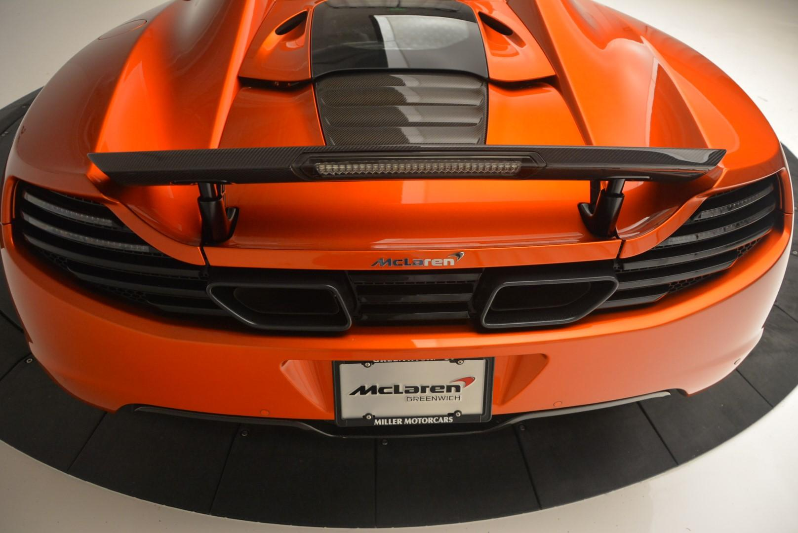 Used 2013 McLaren MP4-12C Base For Sale In Greenwich, CT 66_p33