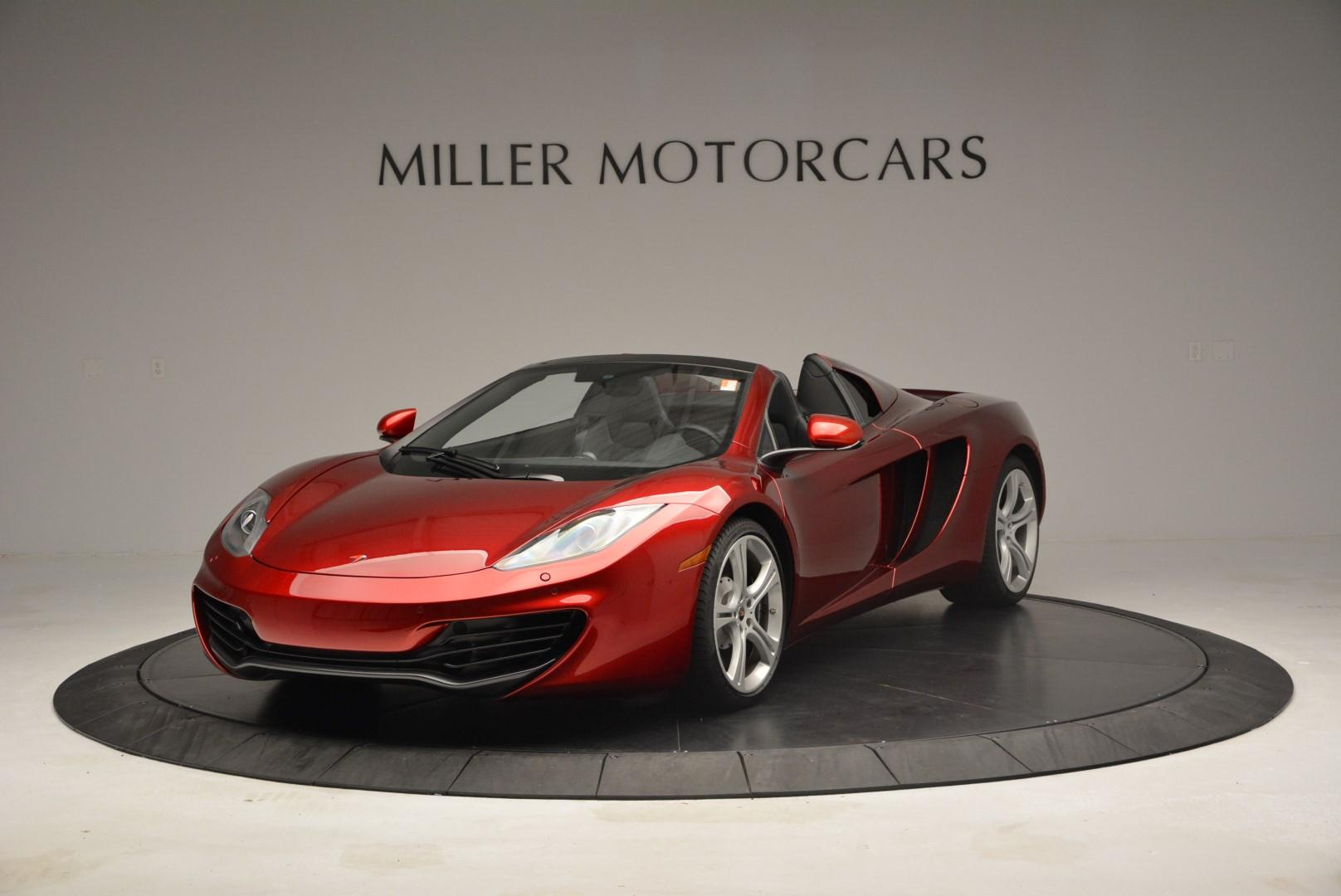 Used 2013 McLaren 12C Spider  For Sale In Greenwich, CT 68_main