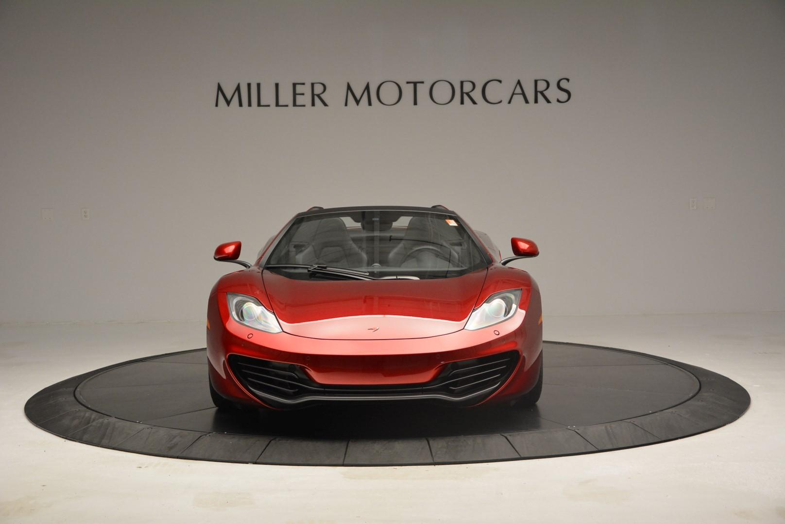 Used 2013 McLaren 12C Spider  For Sale In Greenwich, CT 68_p12