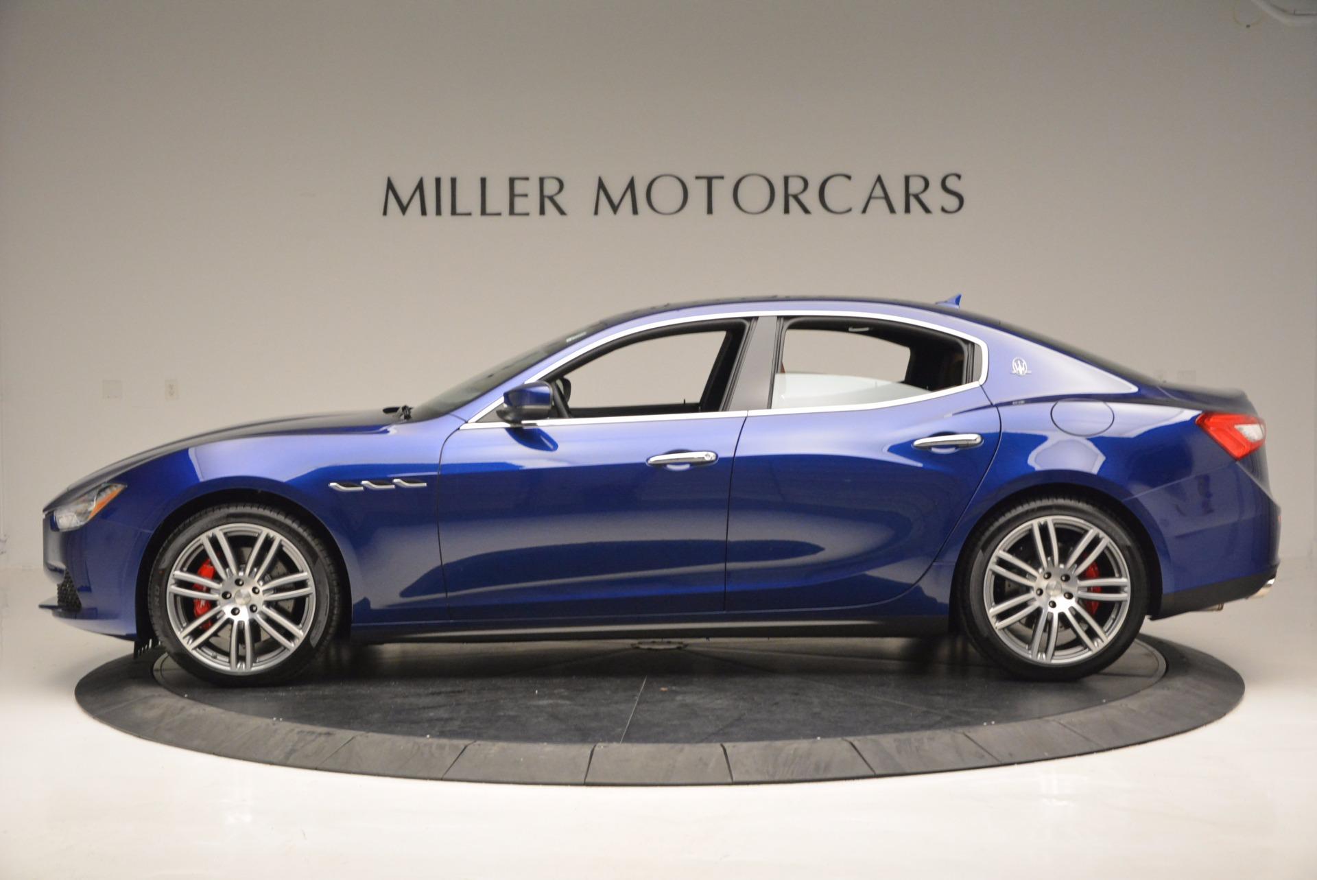 New 2017 Maserati Ghibli S Q4 For Sale In Greenwich, CT 683_p3