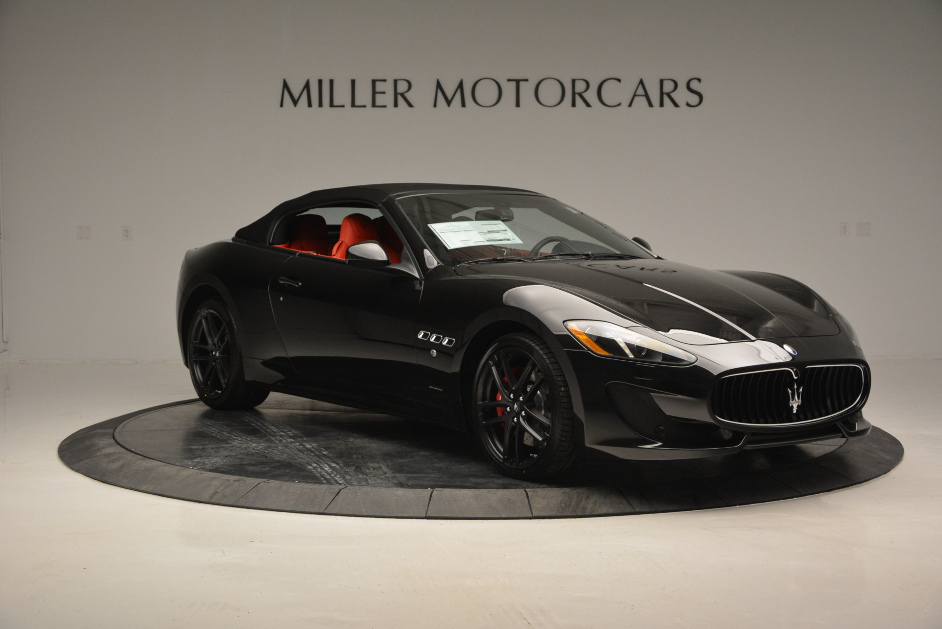 New 2017 Maserati GranTurismo Cab Sport For Sale In Greenwich, CT 687_p16
