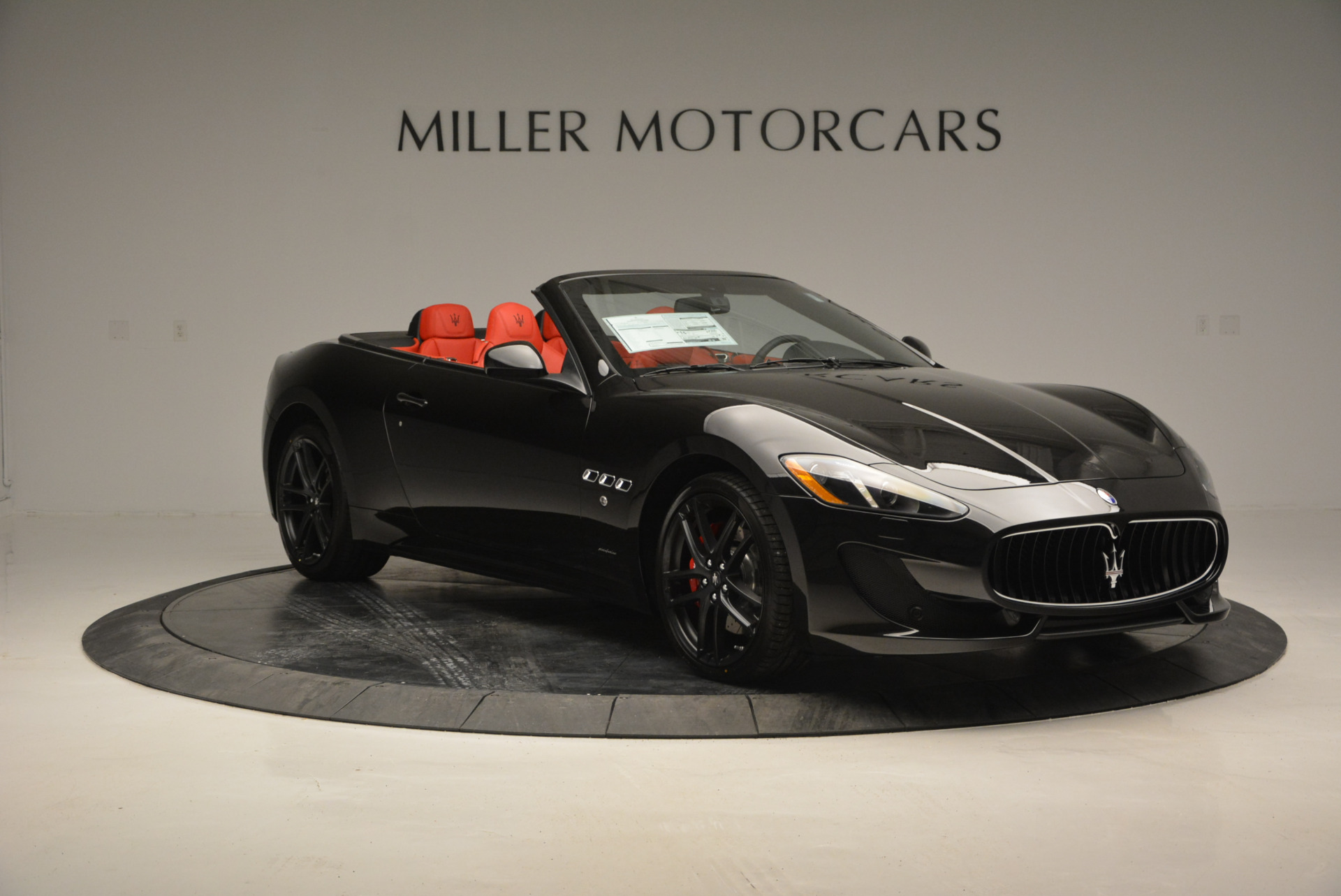 New 2017 Maserati GranTurismo Cab Sport For Sale In Greenwich, CT 687_p17