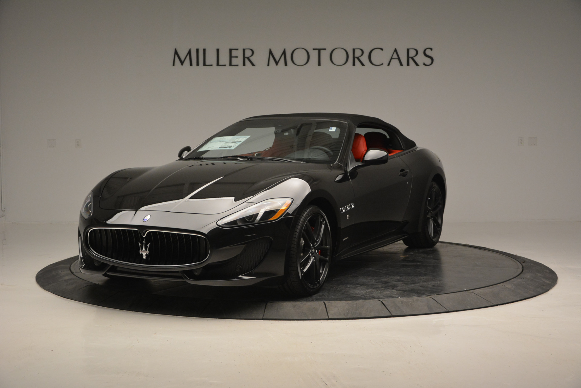 New 2017 Maserati GranTurismo Cab Sport For Sale In Greenwich, CT 687_p2
