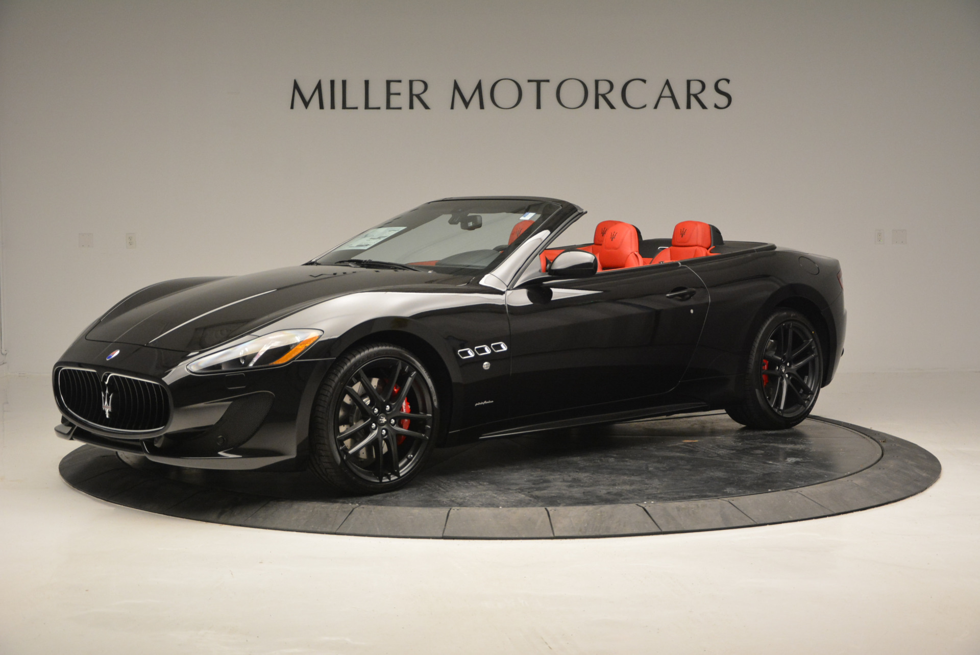 New 2017 Maserati GranTurismo Cab Sport For Sale In Greenwich, CT 687_p3