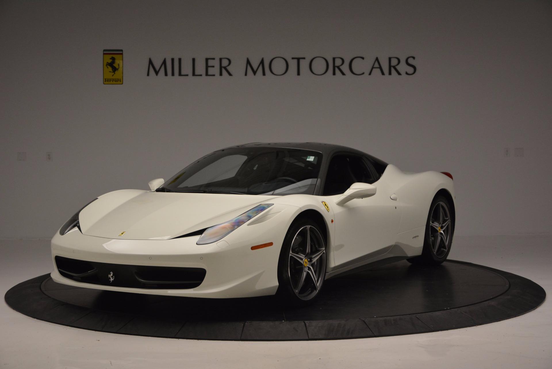 Used 2012 Ferrari 458 Italia  For Sale In Greenwich, CT 709_main
