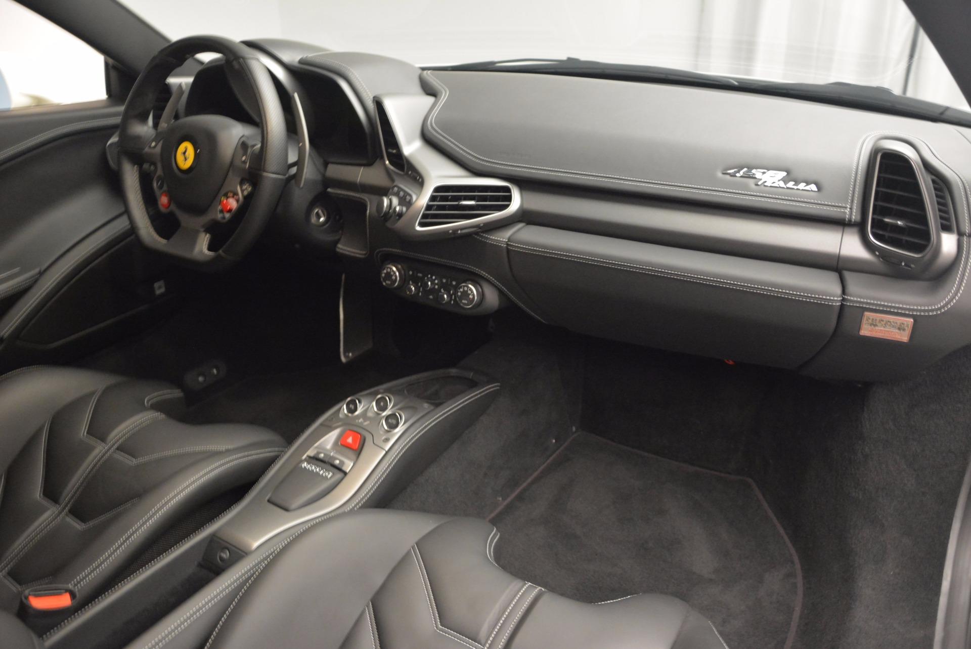 Used 2012 Ferrari 458 Italia  For Sale In Greenwich, CT 709_p17